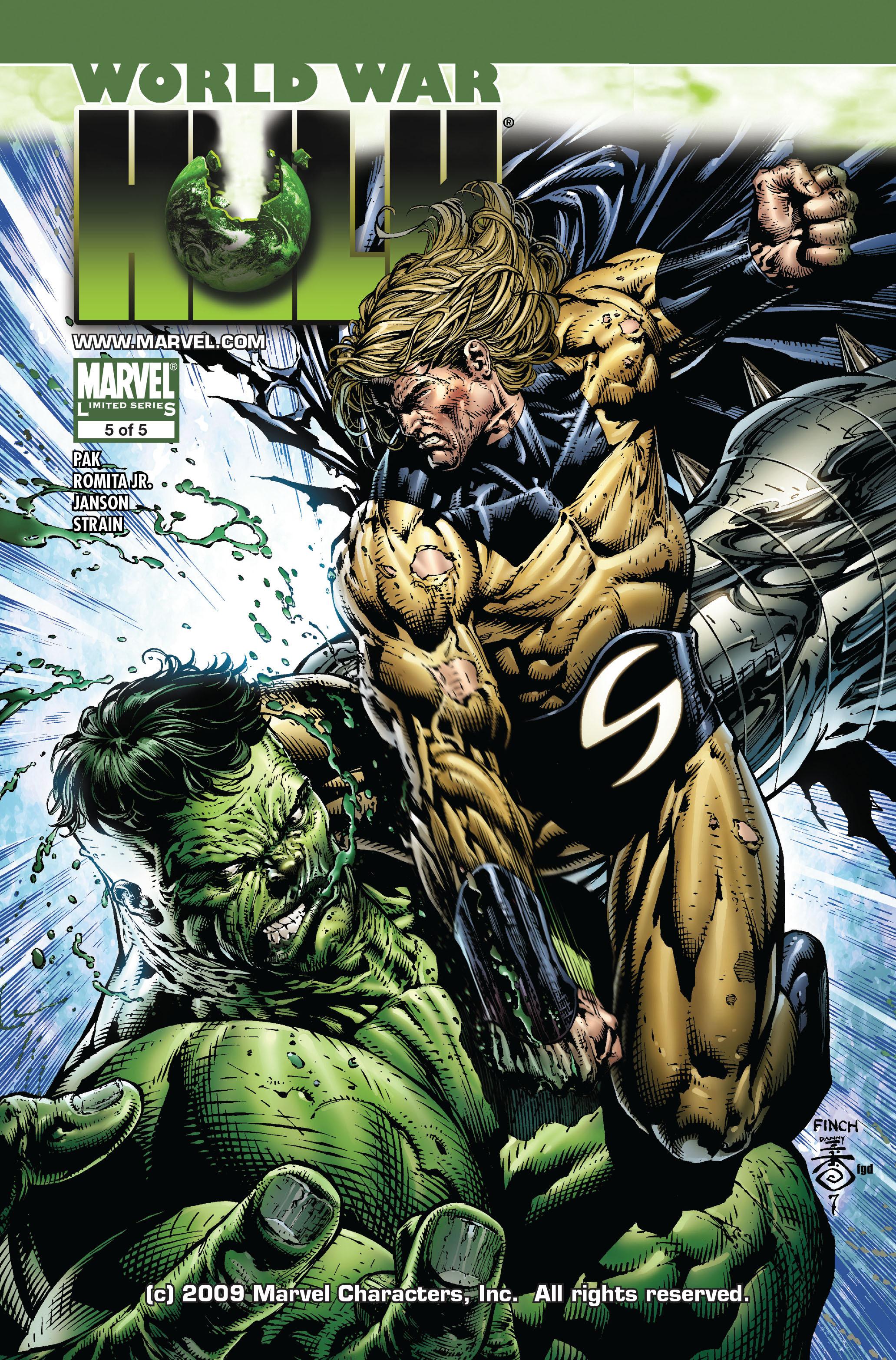 World War Hulk issue 5 - Page 1