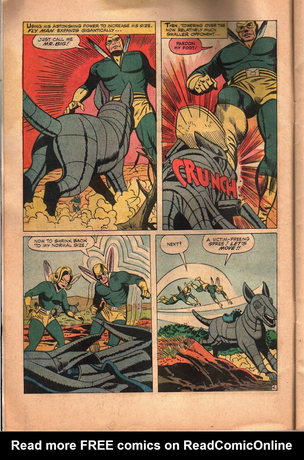 The Mighty Crusaders (1965) Issue #6 #6 - English 5