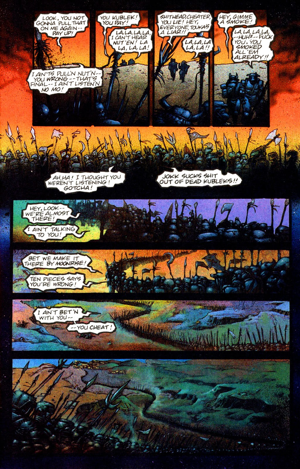 Read online Melting Pot comic -  Issue #1 - 11
