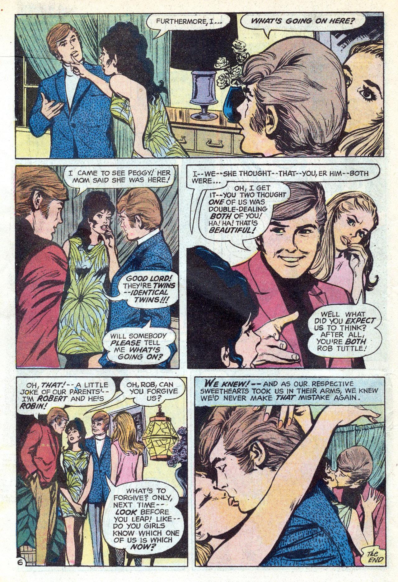 Read online Secret Hearts comic -  Issue #149 - 18