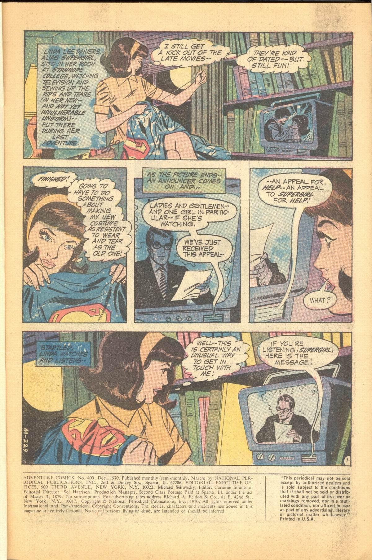 Read online Adventure Comics (1938) comic -  Issue #400 - 4