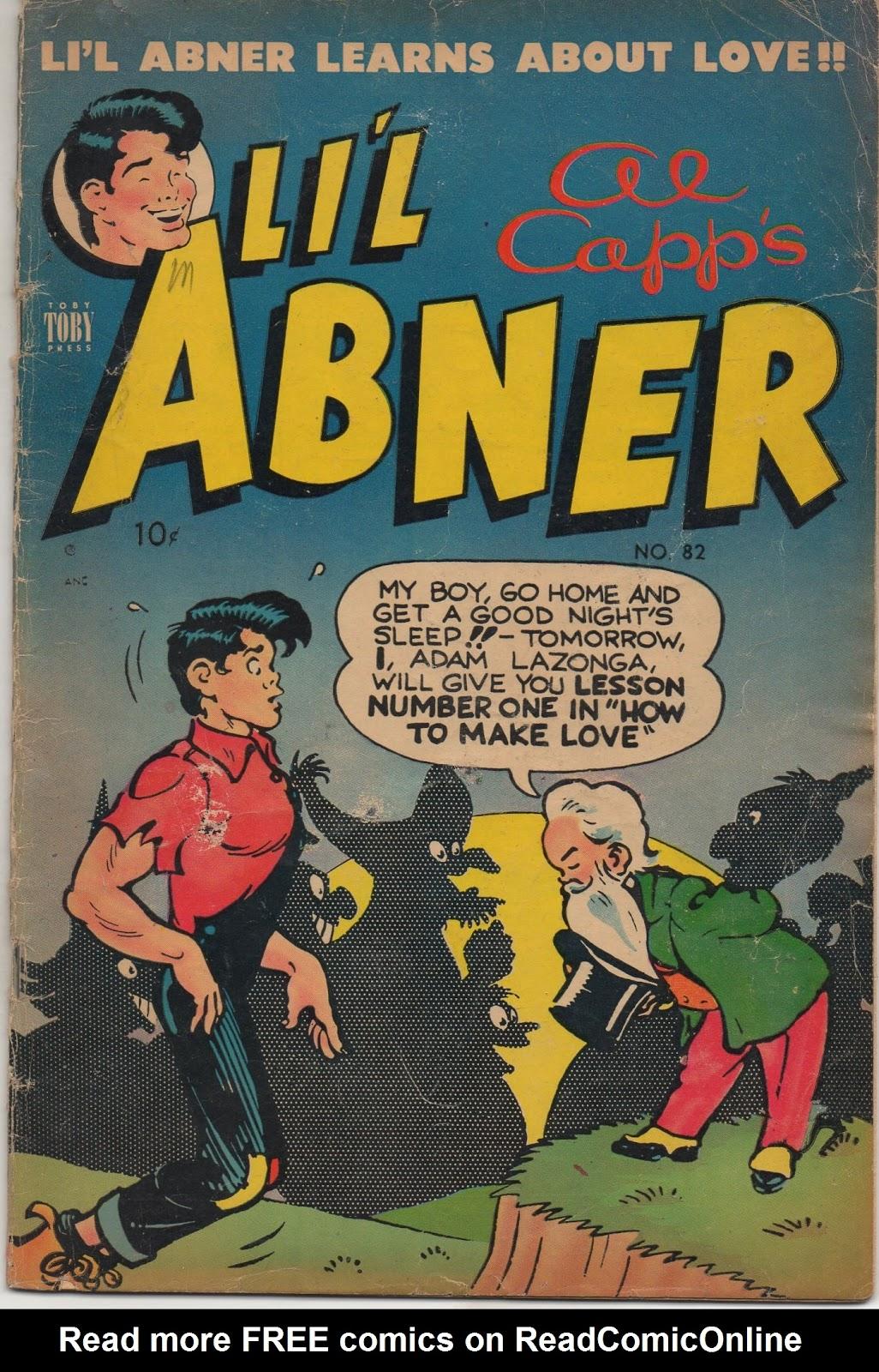 Lil Abner Comics 82 Page 1