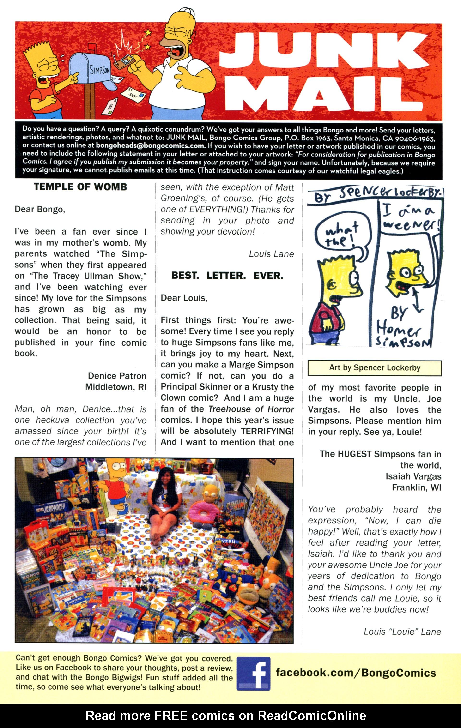 Read online Simpsons Comics comic -  Issue #207 - 29