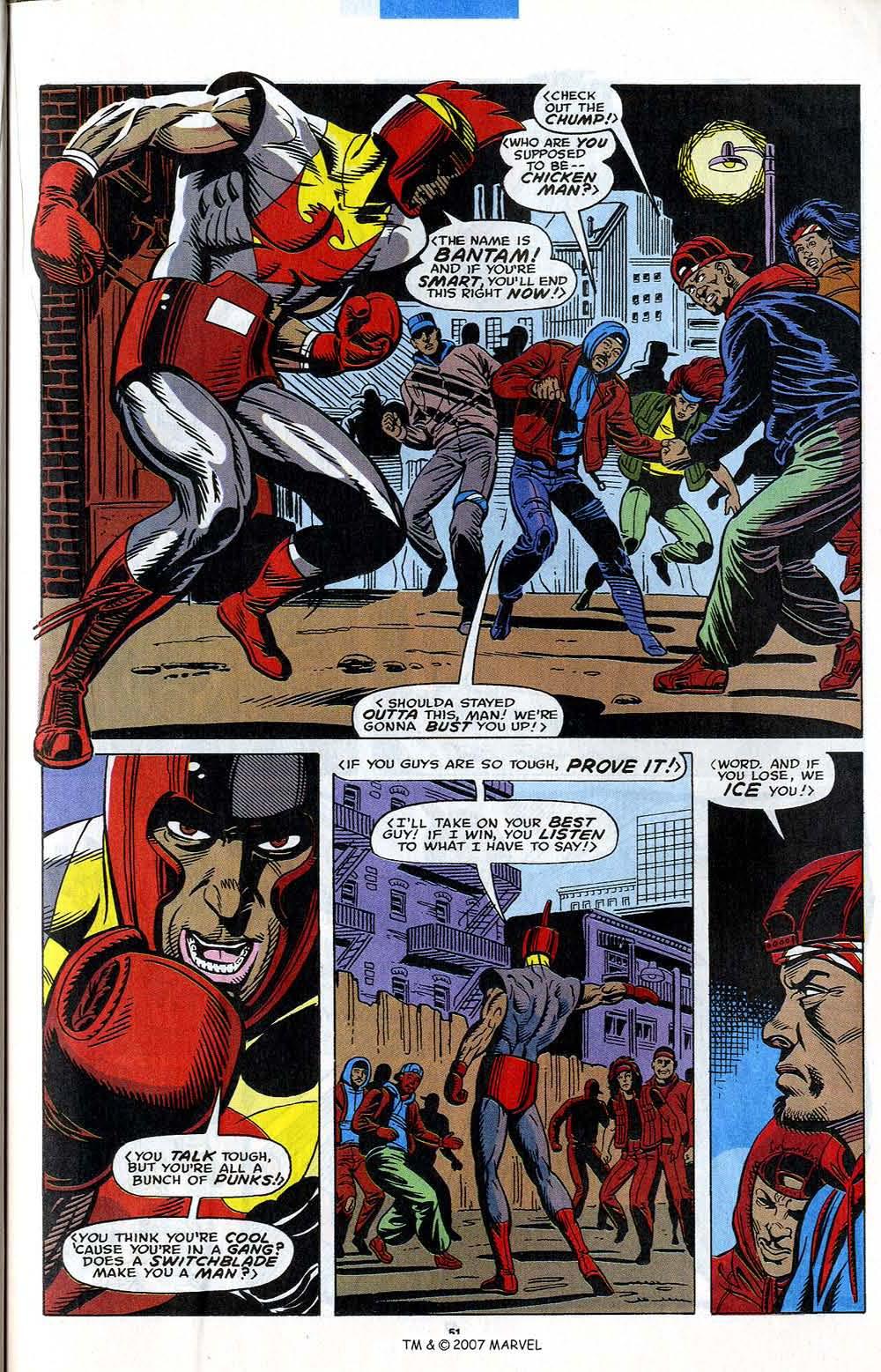 Read online Captain America (1968) comic -  Issue # _Annual 12 - 53