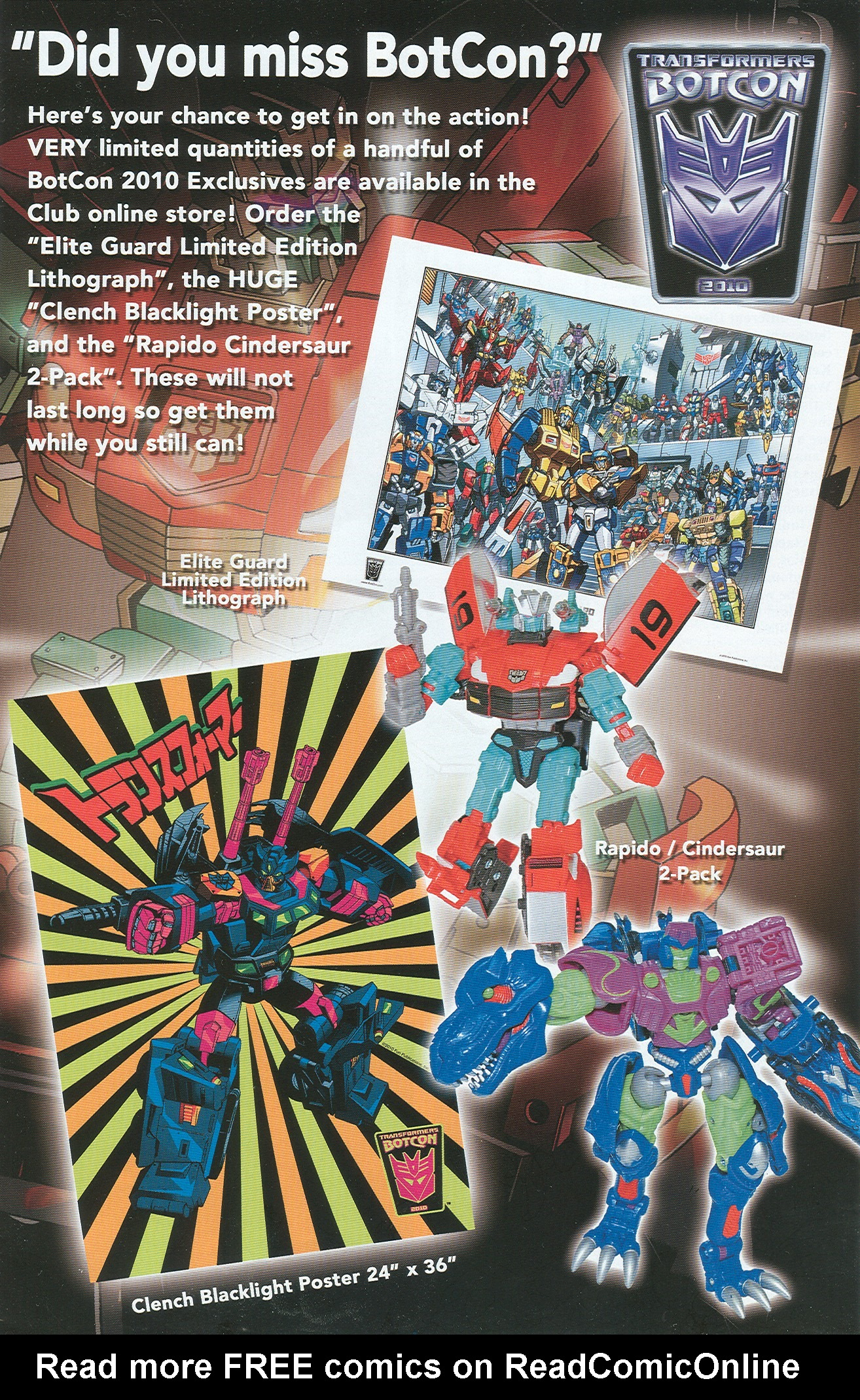 Read online Transformers: Collectors' Club comic -  Issue #34 - 3