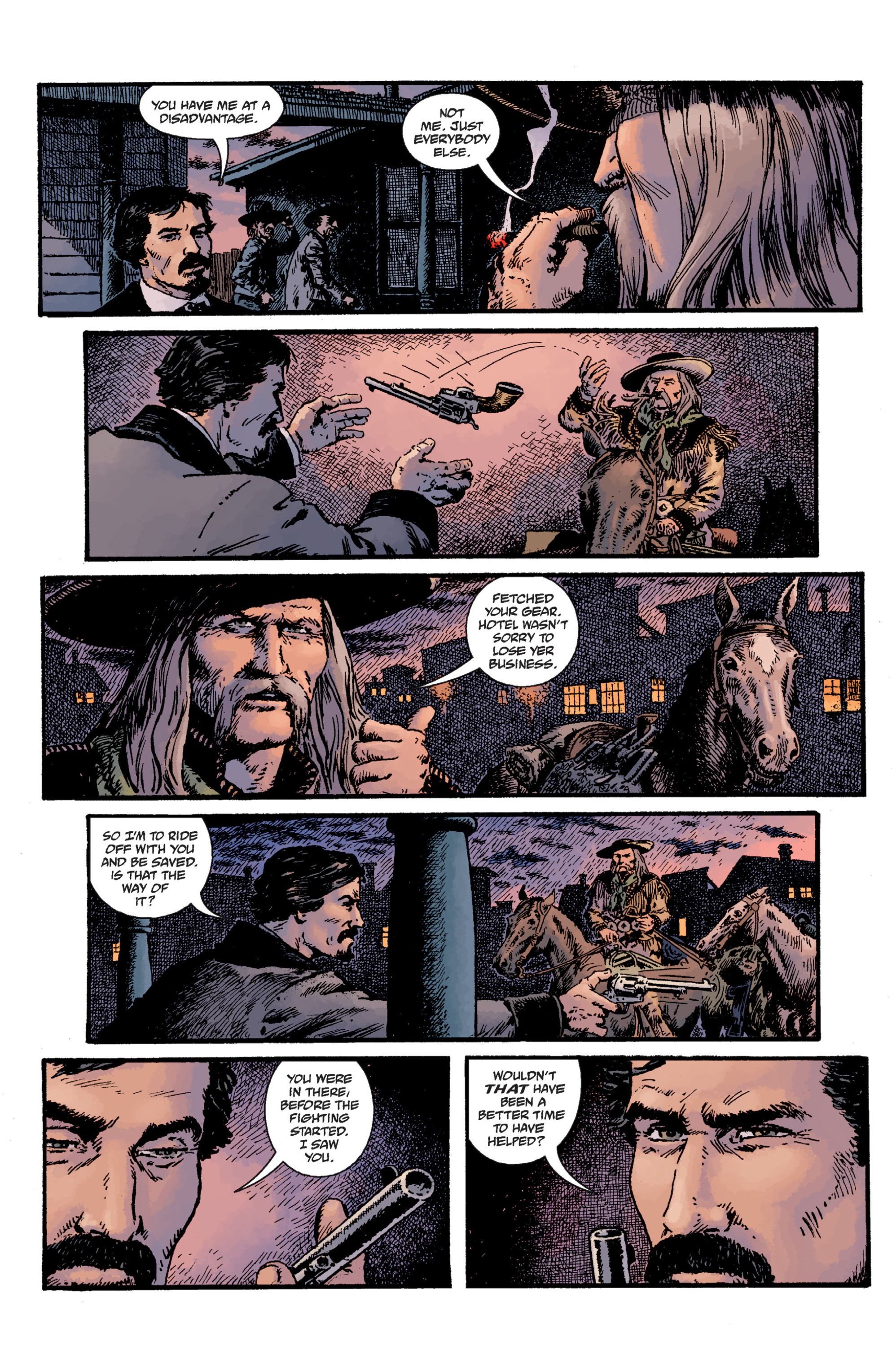Read online Sir Edward Grey, Witchfinder: Lost and Gone Forever comic -  Issue # TPB - 21