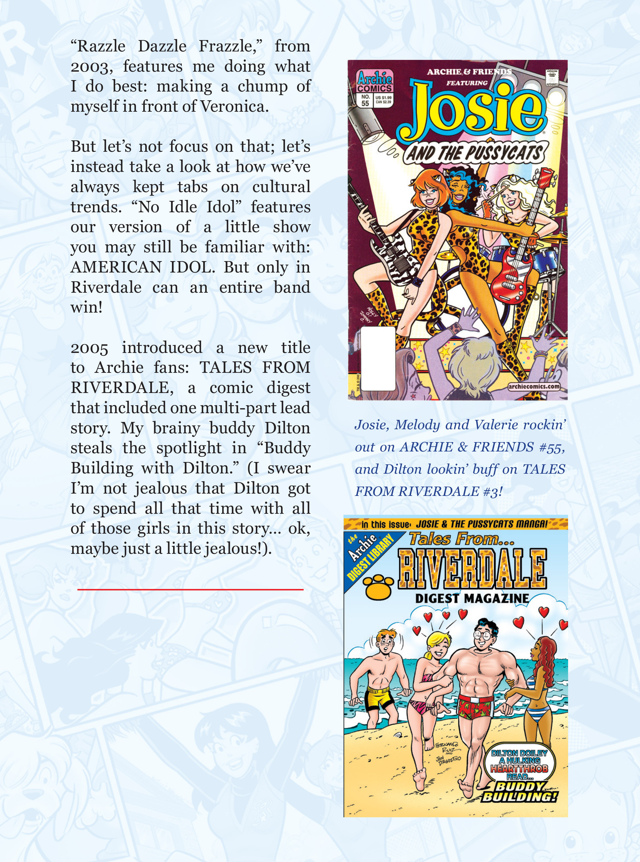 Read online Archie 75th Anniversary Digest comic -  Issue #3 - 179