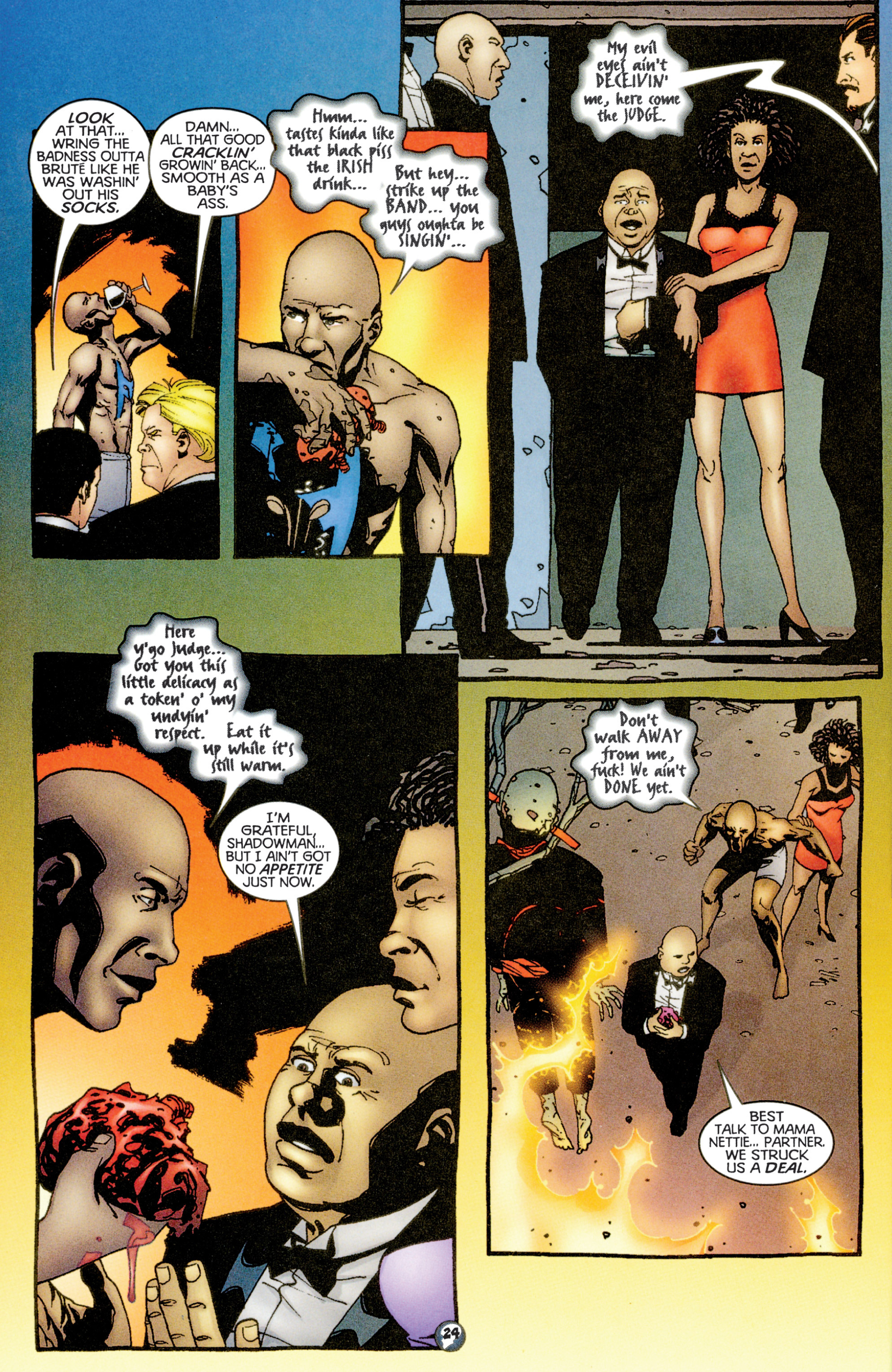 Read online Shadowman (1997) comic -  Issue #15 - 19