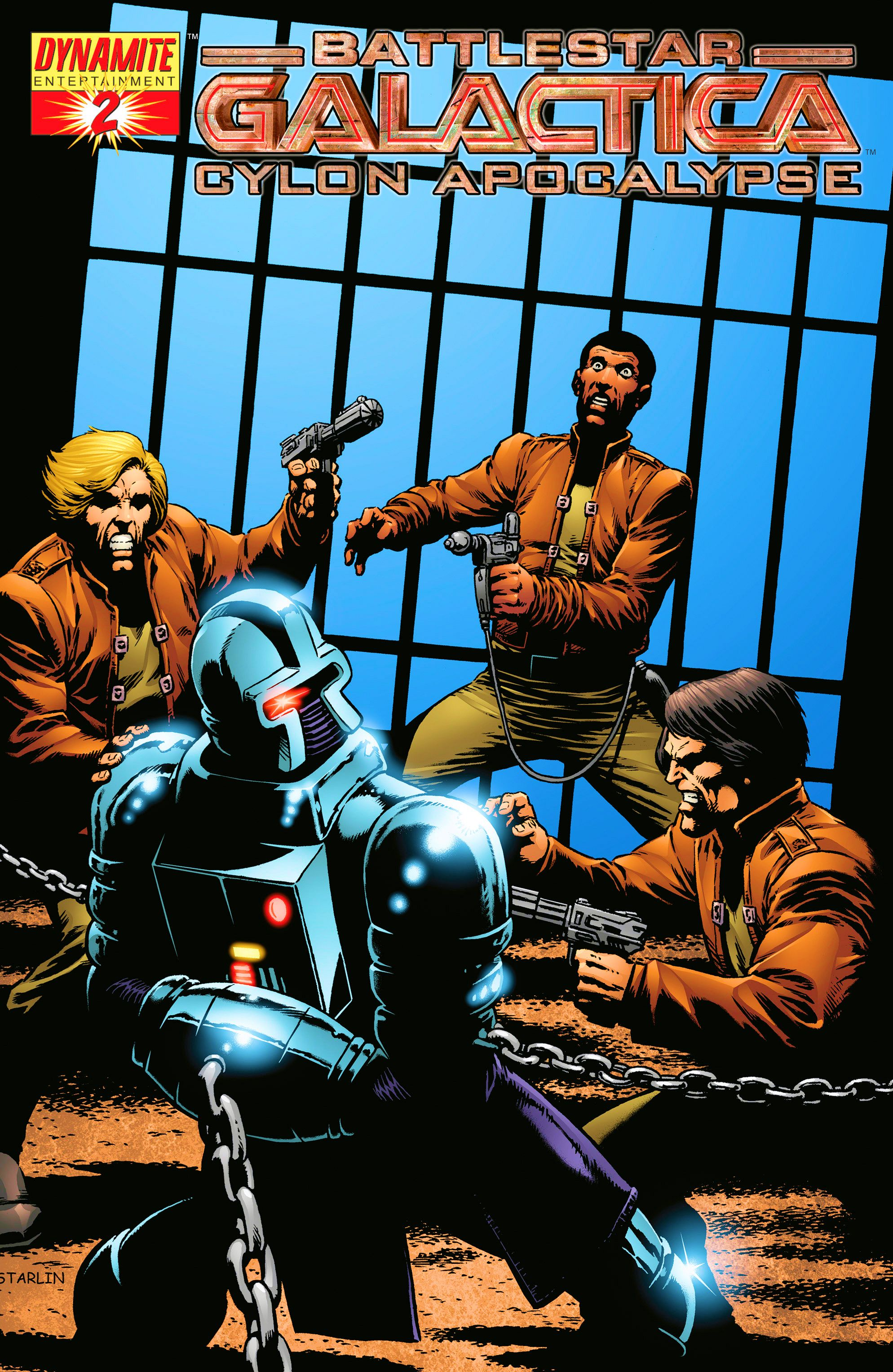Battlestar Galactica: Cylon Apocalypse 2 Page 1