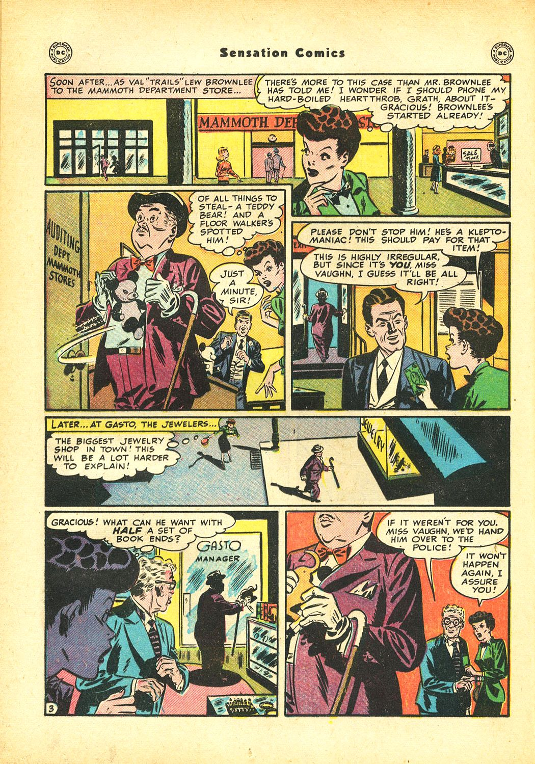 Read online Sensation (Mystery) Comics comic -  Issue #86 - 18