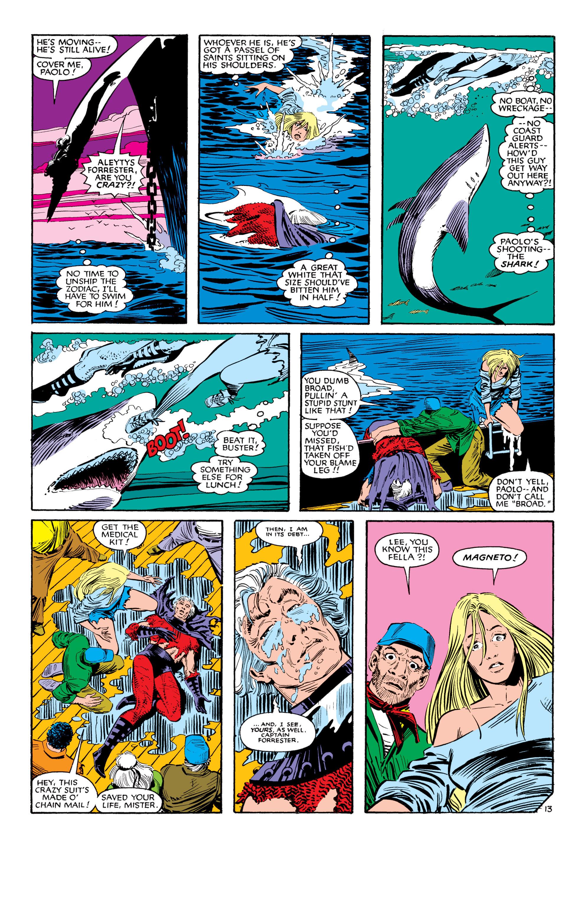 Read online Uncanny X-Men (1963) comic -  Issue #188 - 14