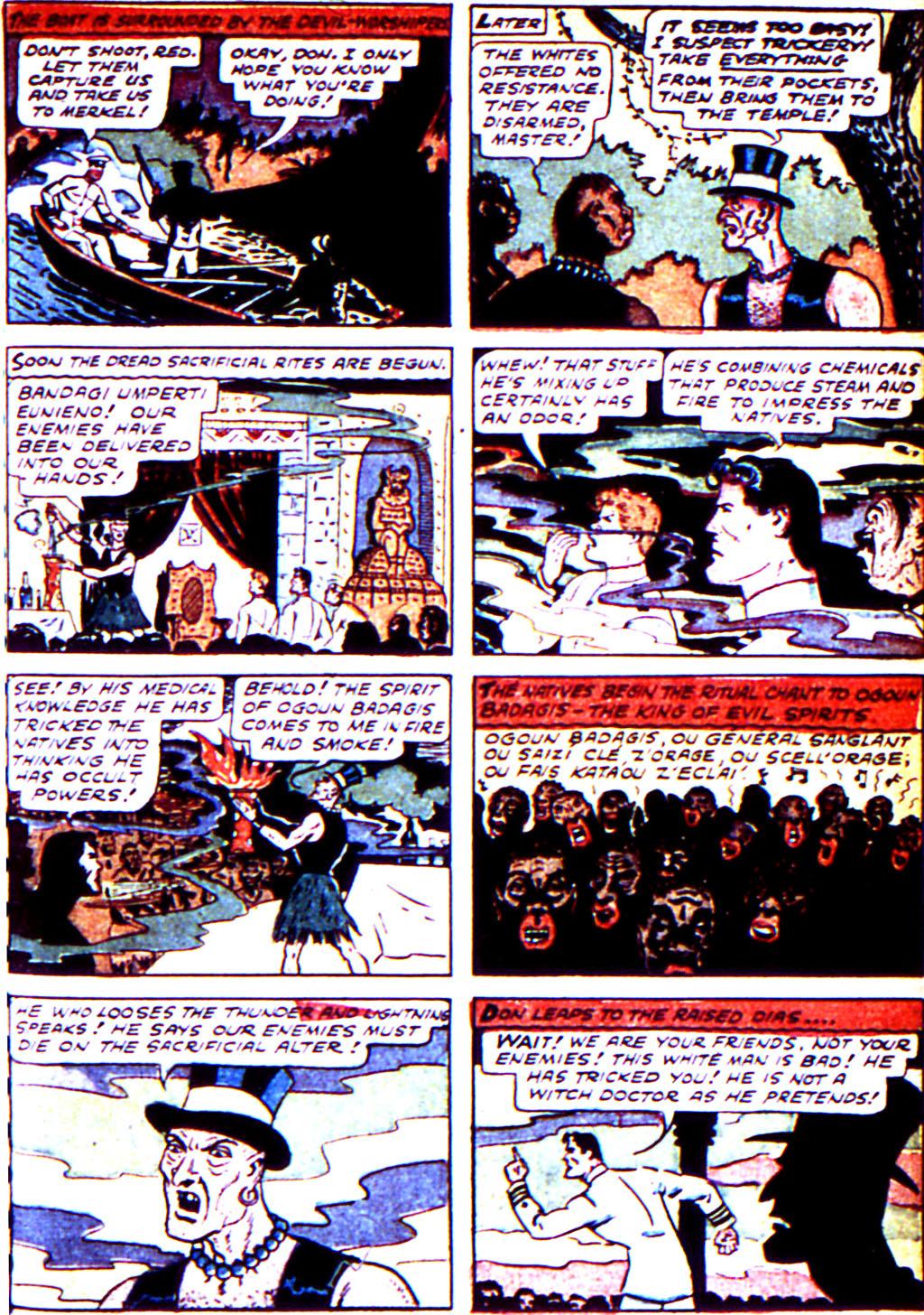 Read online Adventure Comics (1938) comic -  Issue #43 - 47