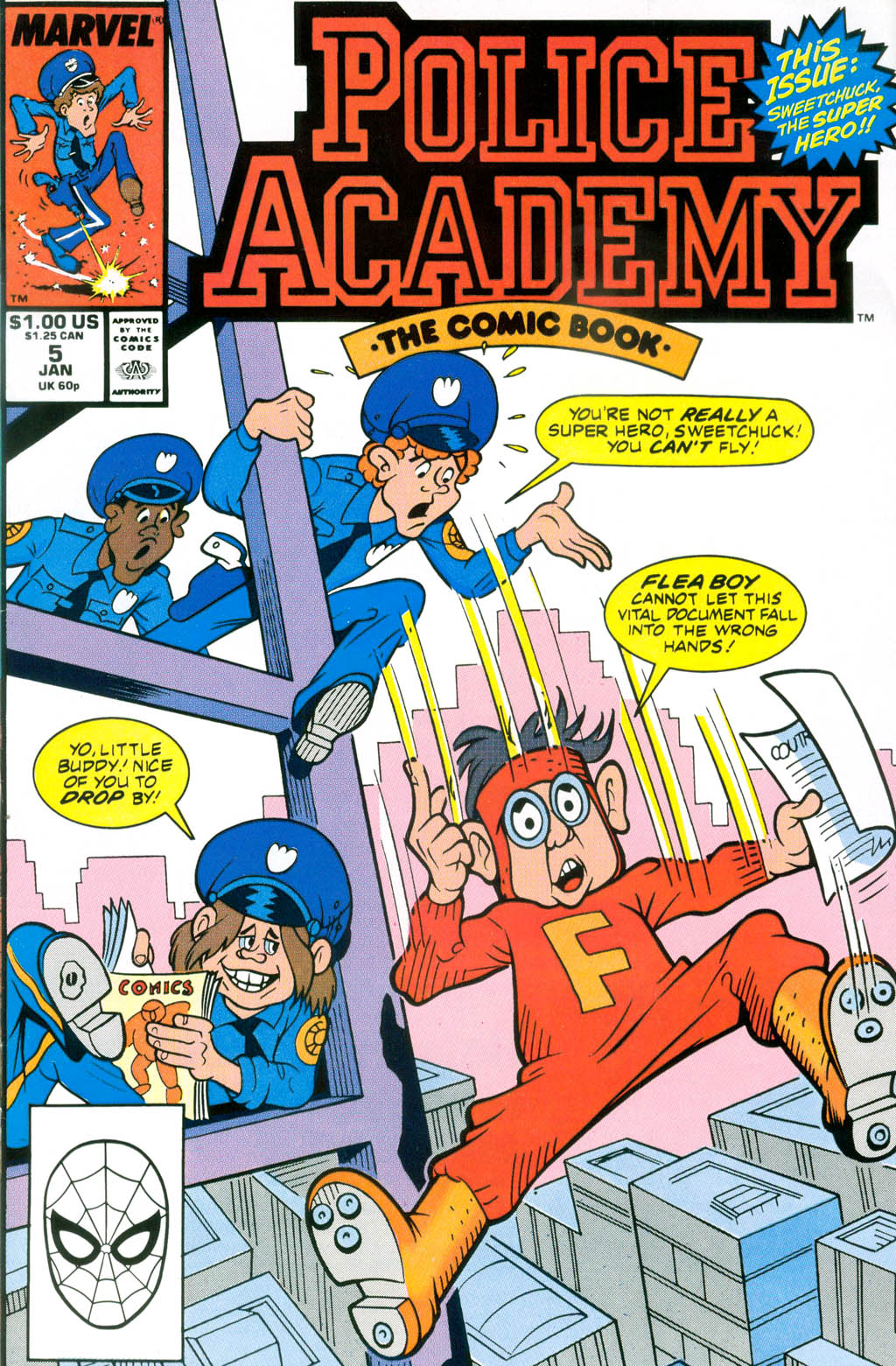 Police Academy issue 5 - Page 1