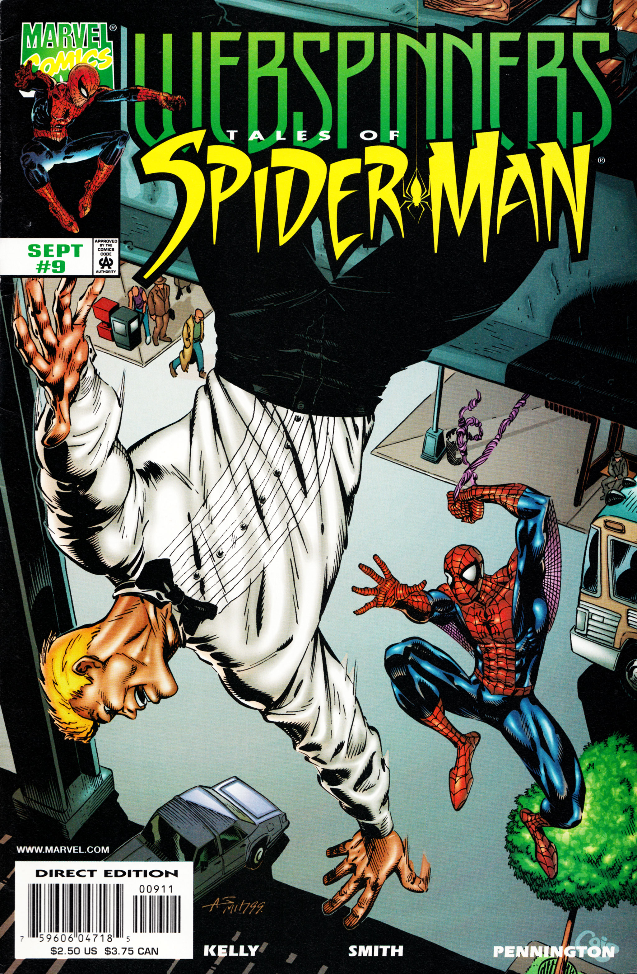 Webspinners: Tales of Spider-Man 9 Page 1