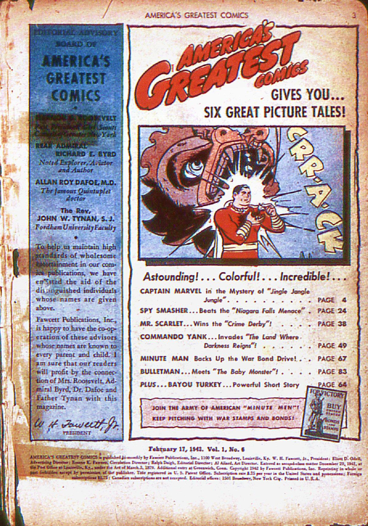 Read online America's Greatest Comics comic -  Issue #6 - 4