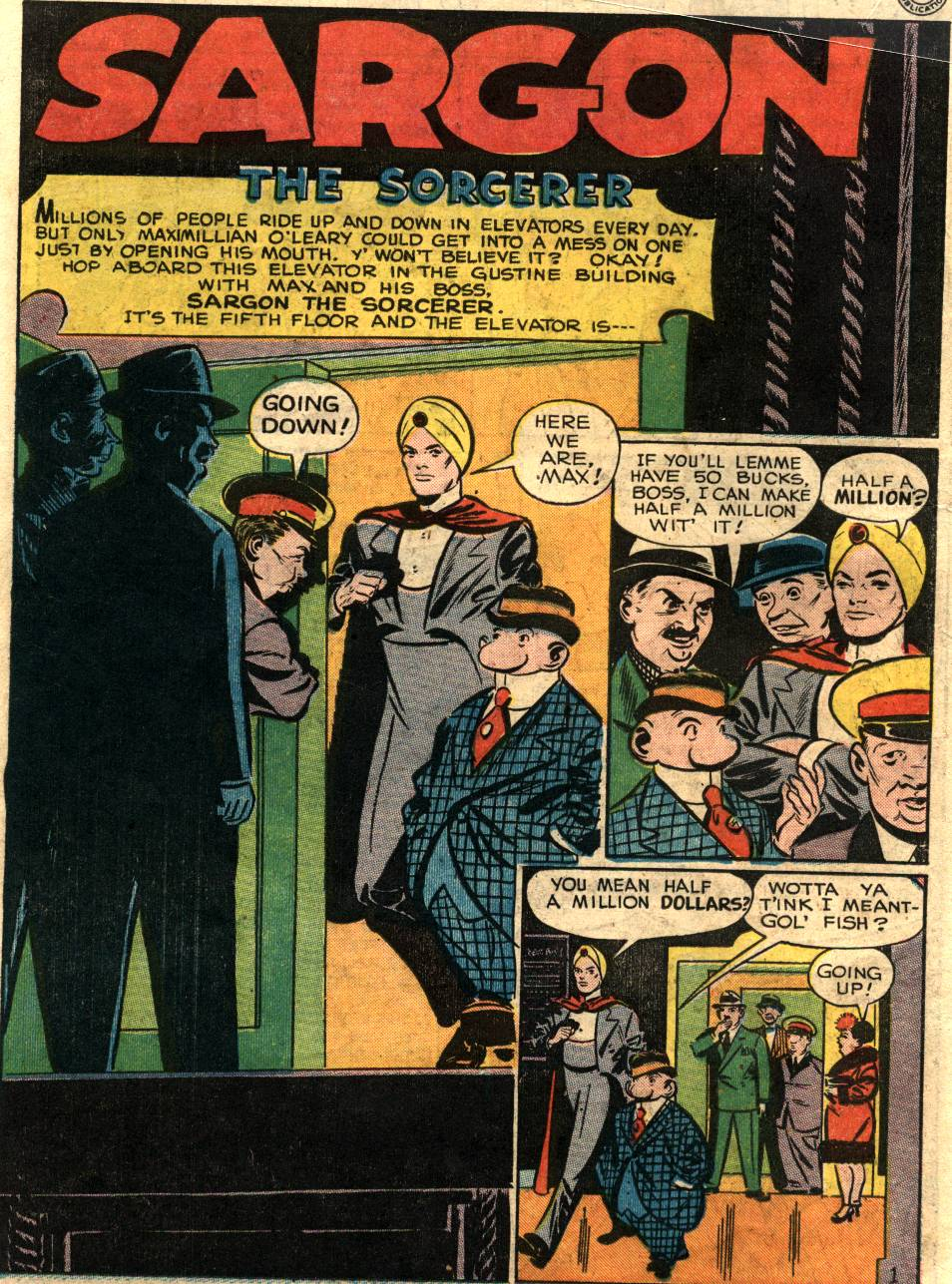 Read online Sensation (Mystery) Comics comic -  Issue #58 - 24