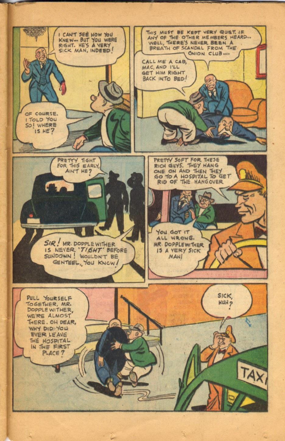 Read online Super-Magician Comics comic -  Issue #52 - 36