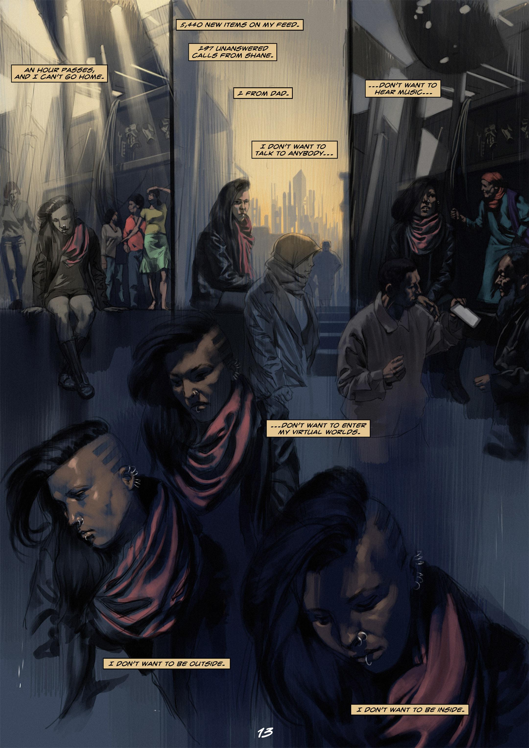 Read online Wynter comic -  Issue #1 - 13