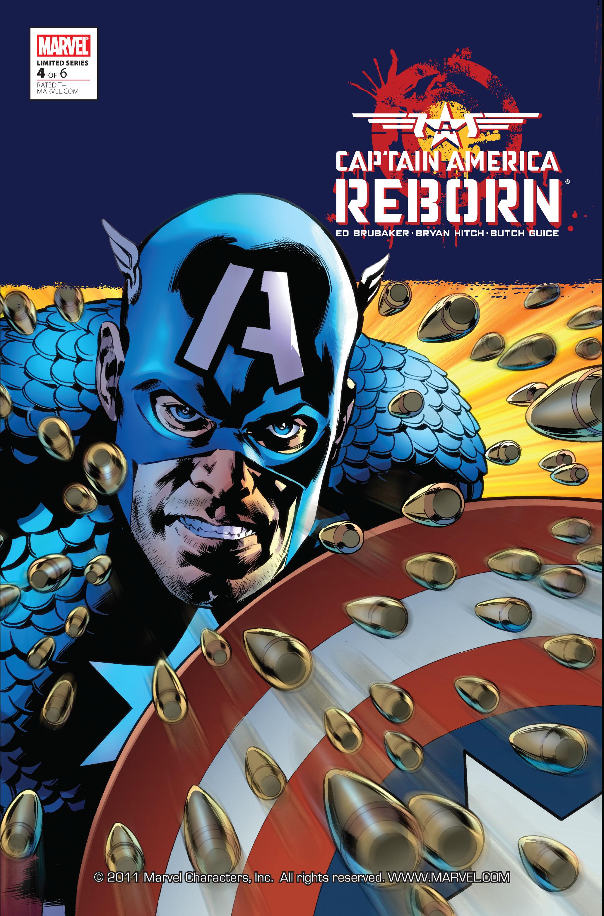 Captain America: Reborn 4 Page 1