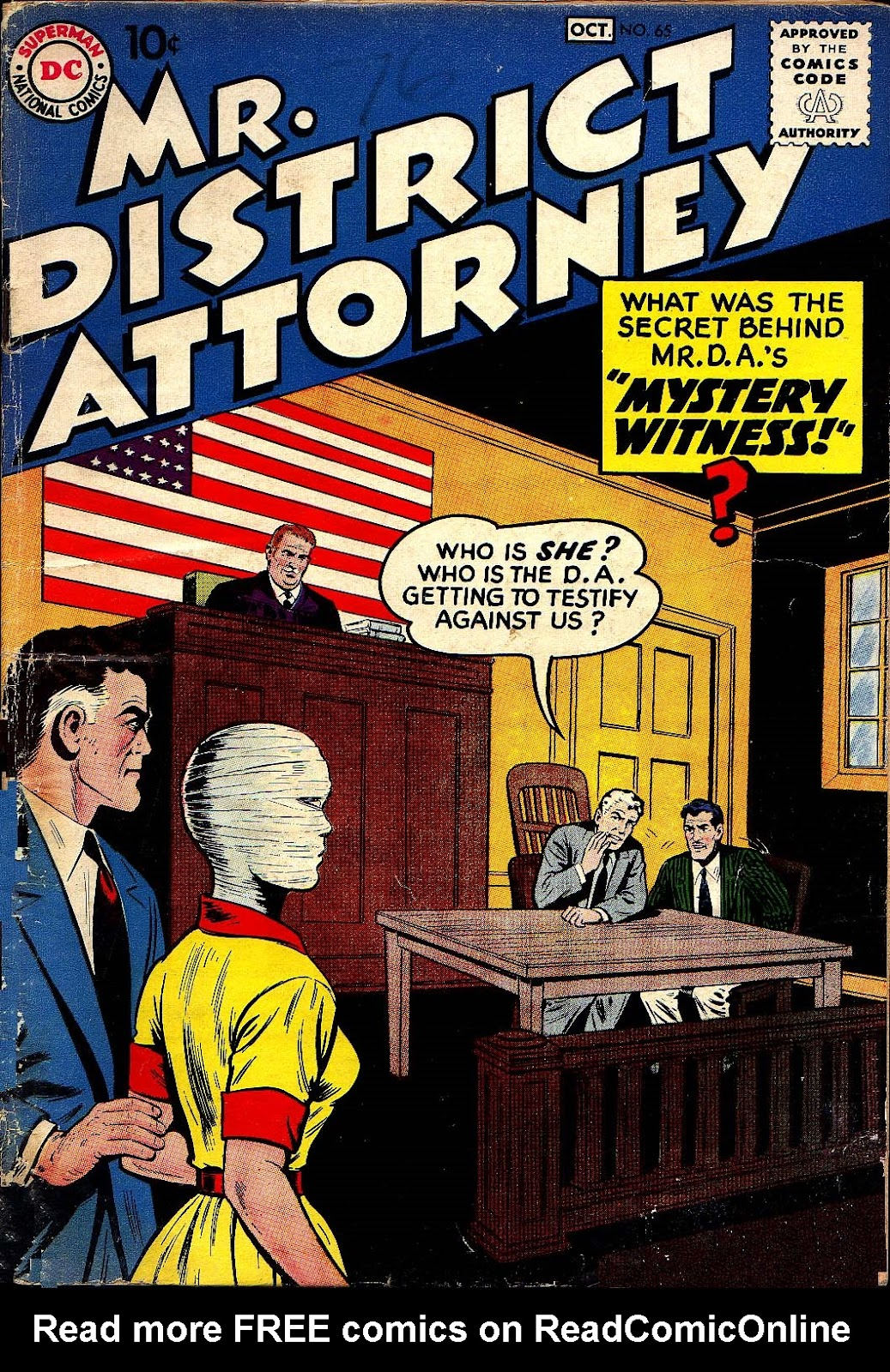 Mr. District Attorney issue 65 - Page 1