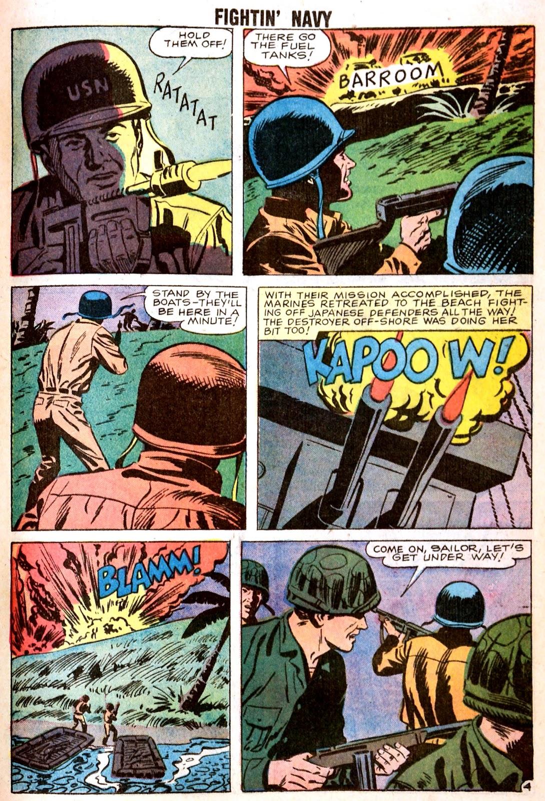 Read online Fightin' Navy comic -  Issue #85 - 17