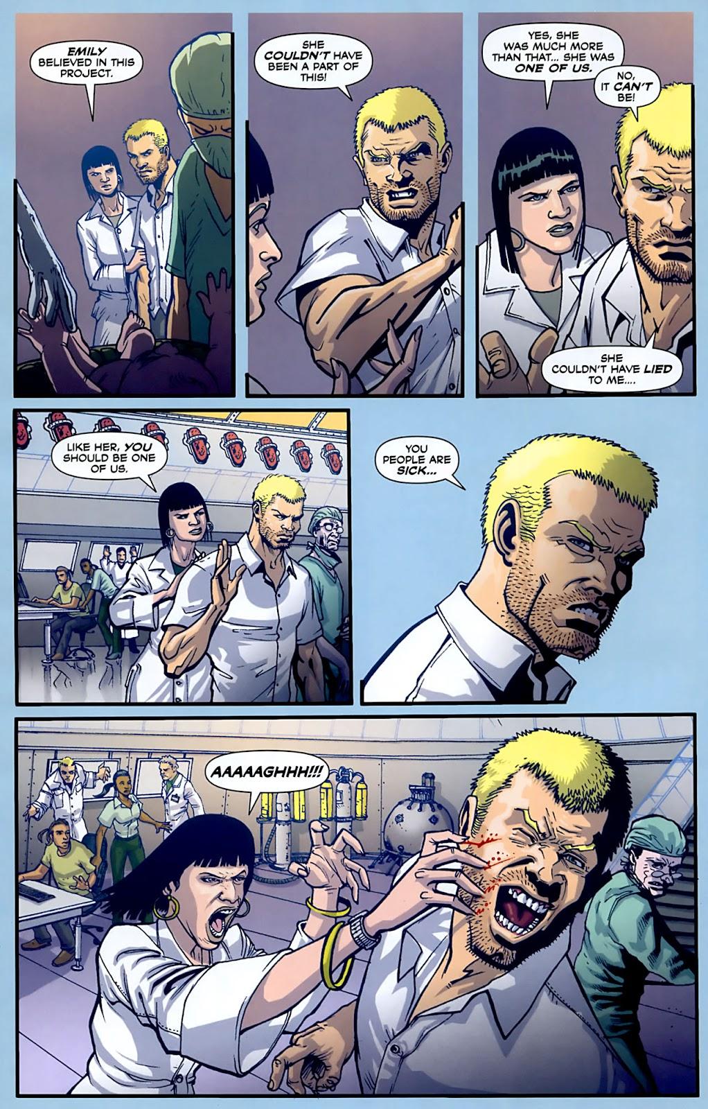 Read online Lazarus (2007) comic -  Issue #3 - 10