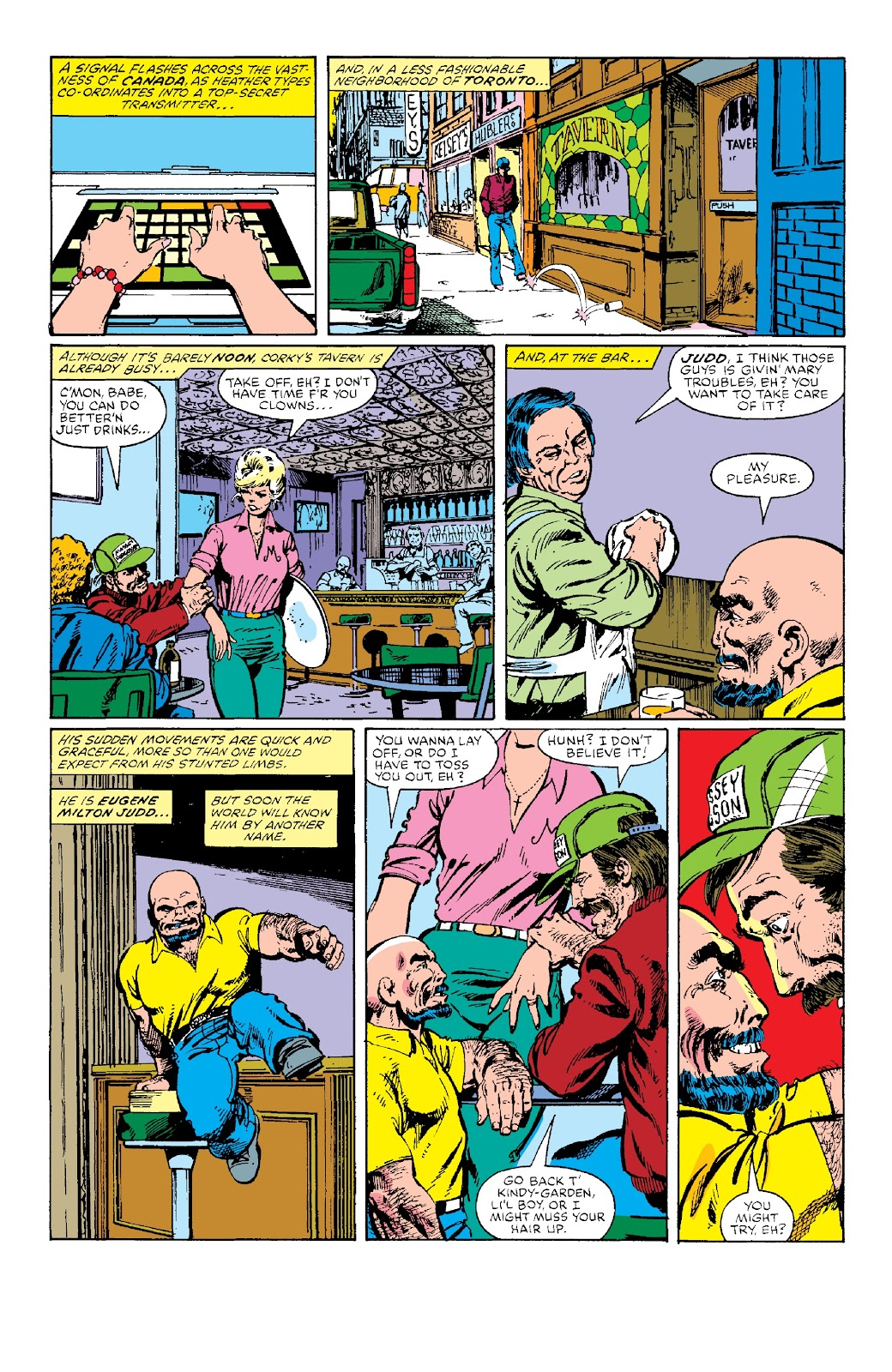 Alpha Flight (1983) issue _Facsimile_Edition_1 - Page 22