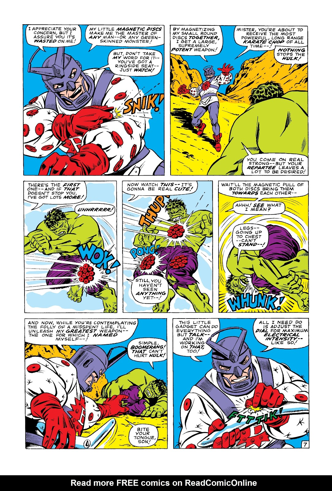 Read online Marvel Masterworks: The Incredible Hulk comic -  Issue # TPB 3 (Part 1) - 36