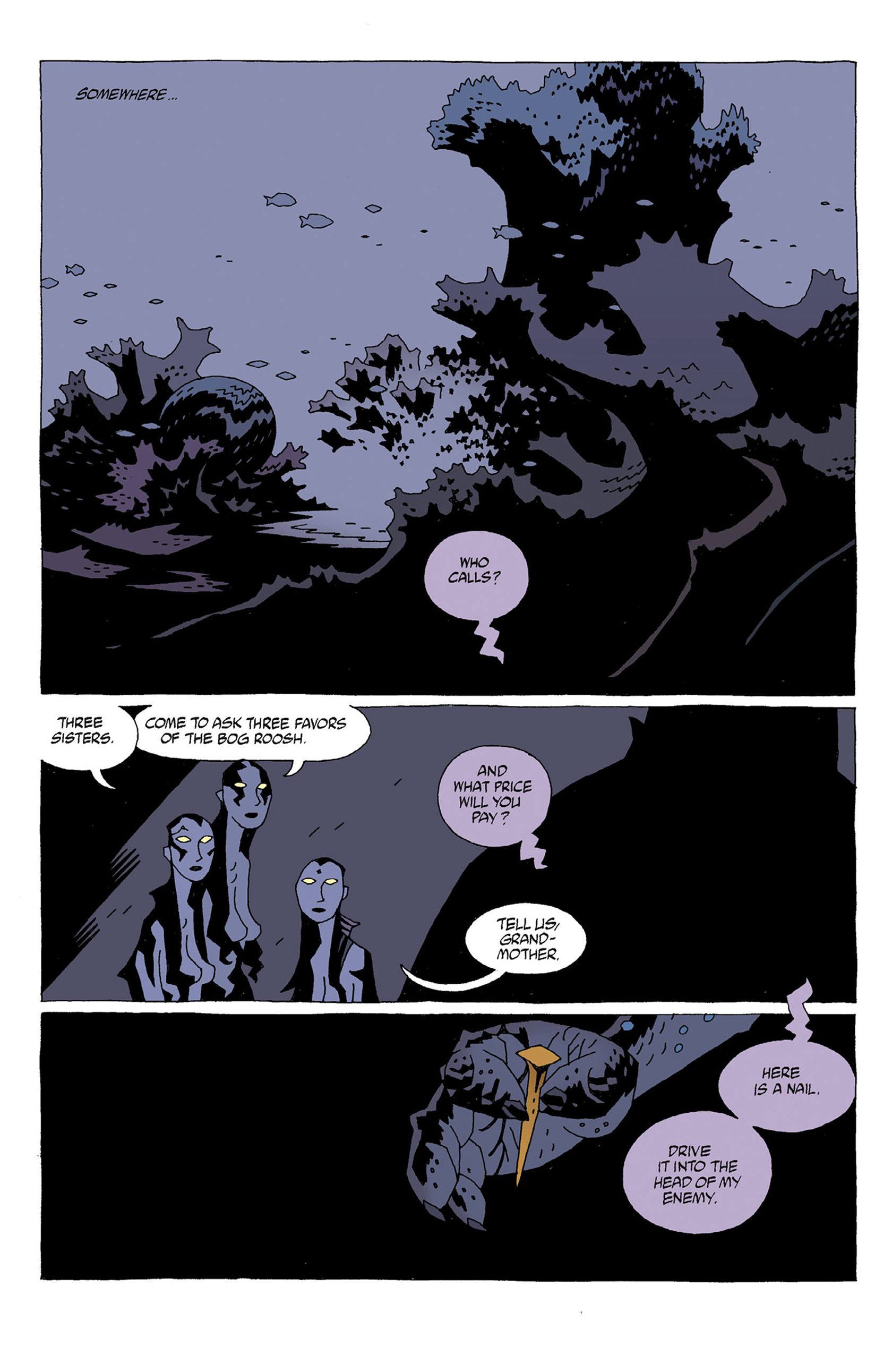 Read online Hellboy: Strange Places comic -  Issue # TPB - 10