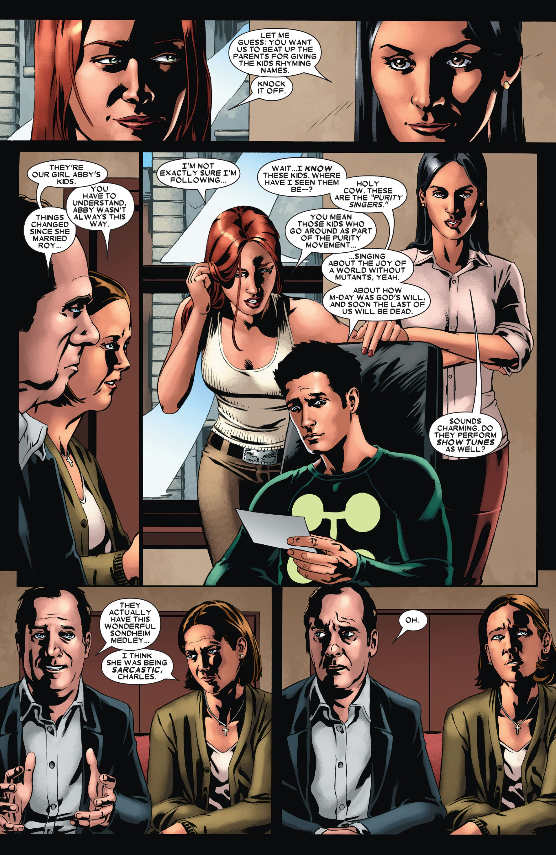 Read online X-Factor (2006) comic -  Issue #21 - 20
