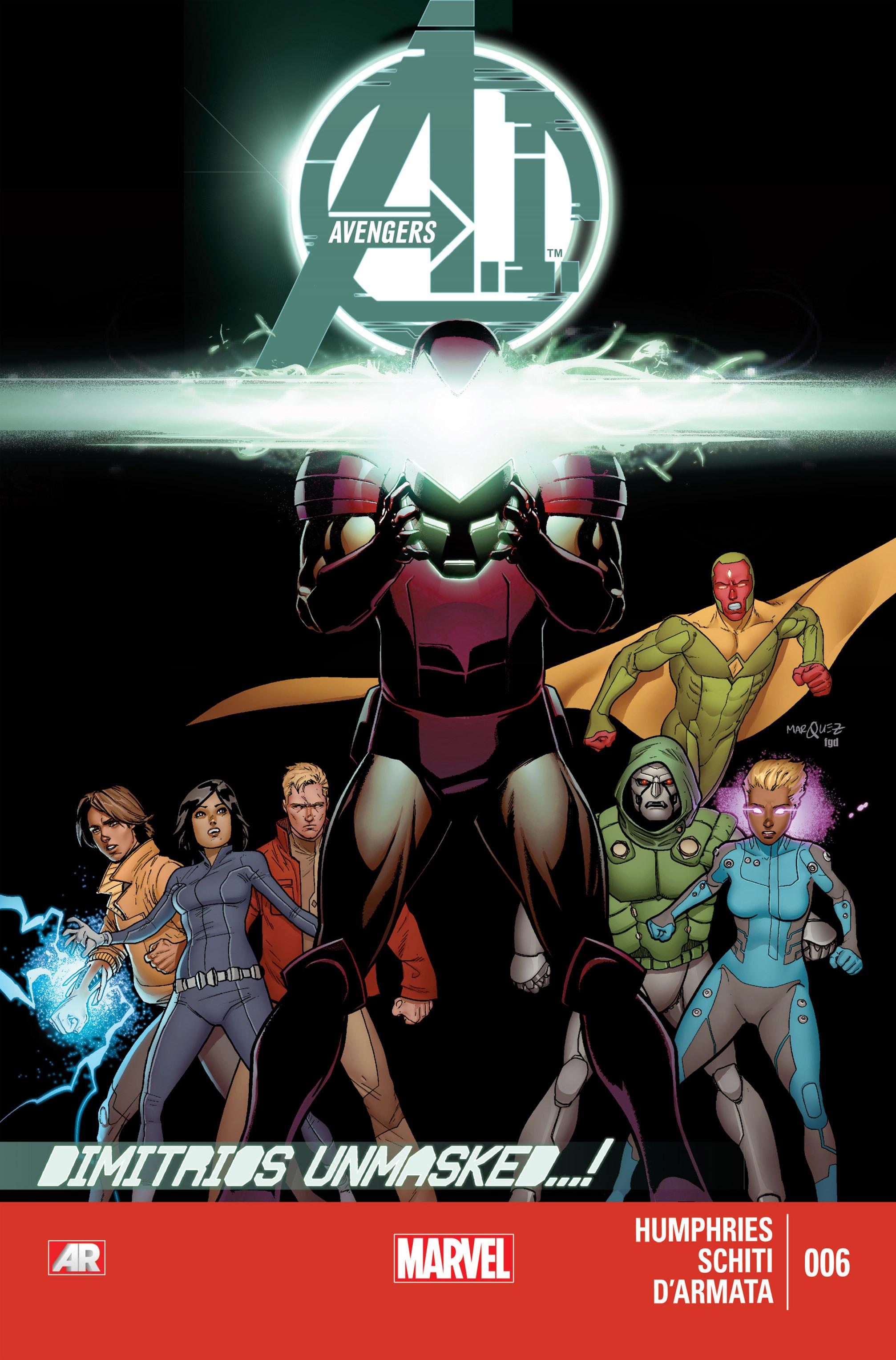 Avengers A.I. 6 Page 1