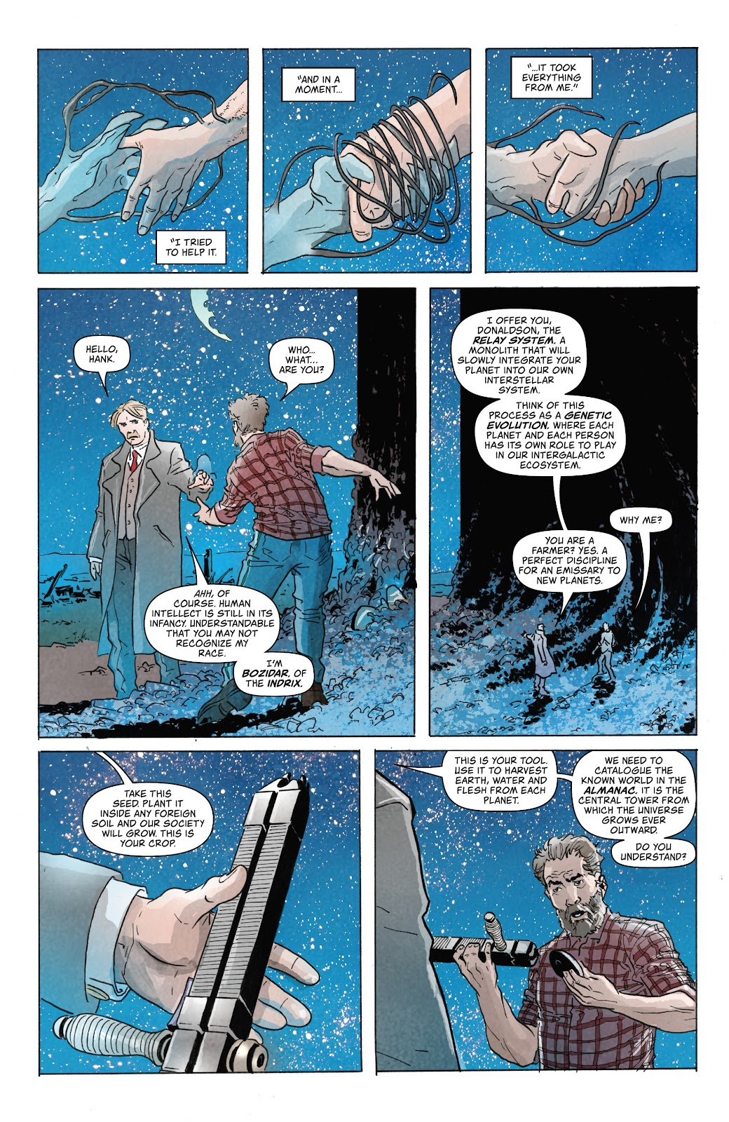 Read online Relay comic -  Issue #5 - 6