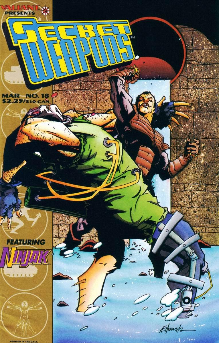 Read online Secret Weapons comic -  Issue #18 - 1