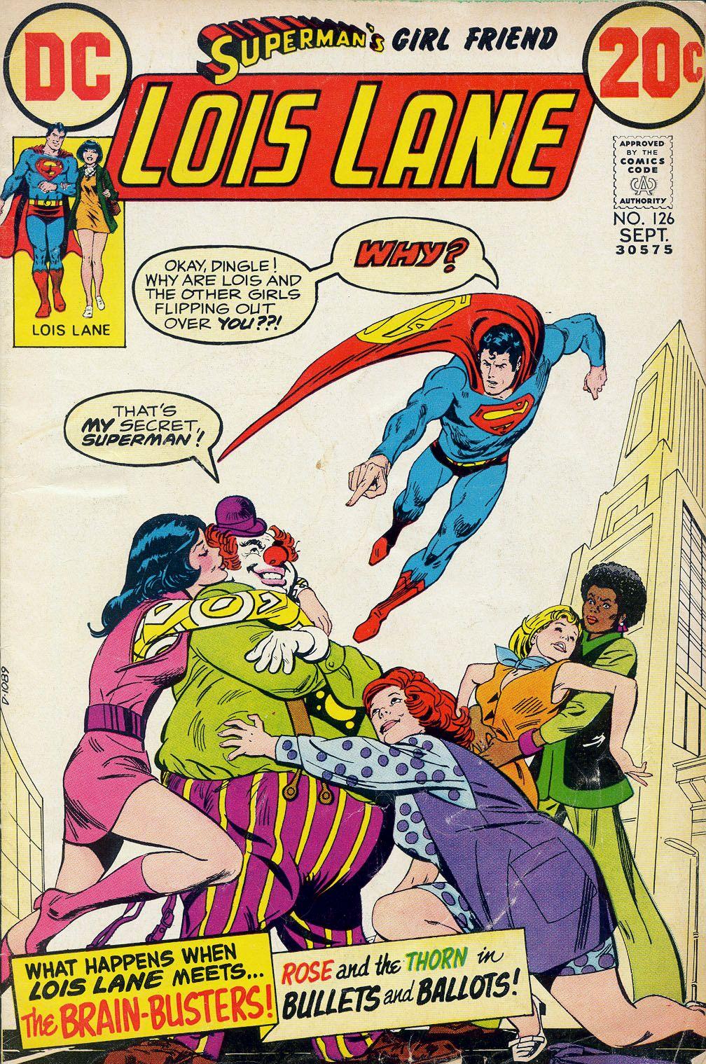 Supermans Girl Friend, Lois Lane 126 Page 1