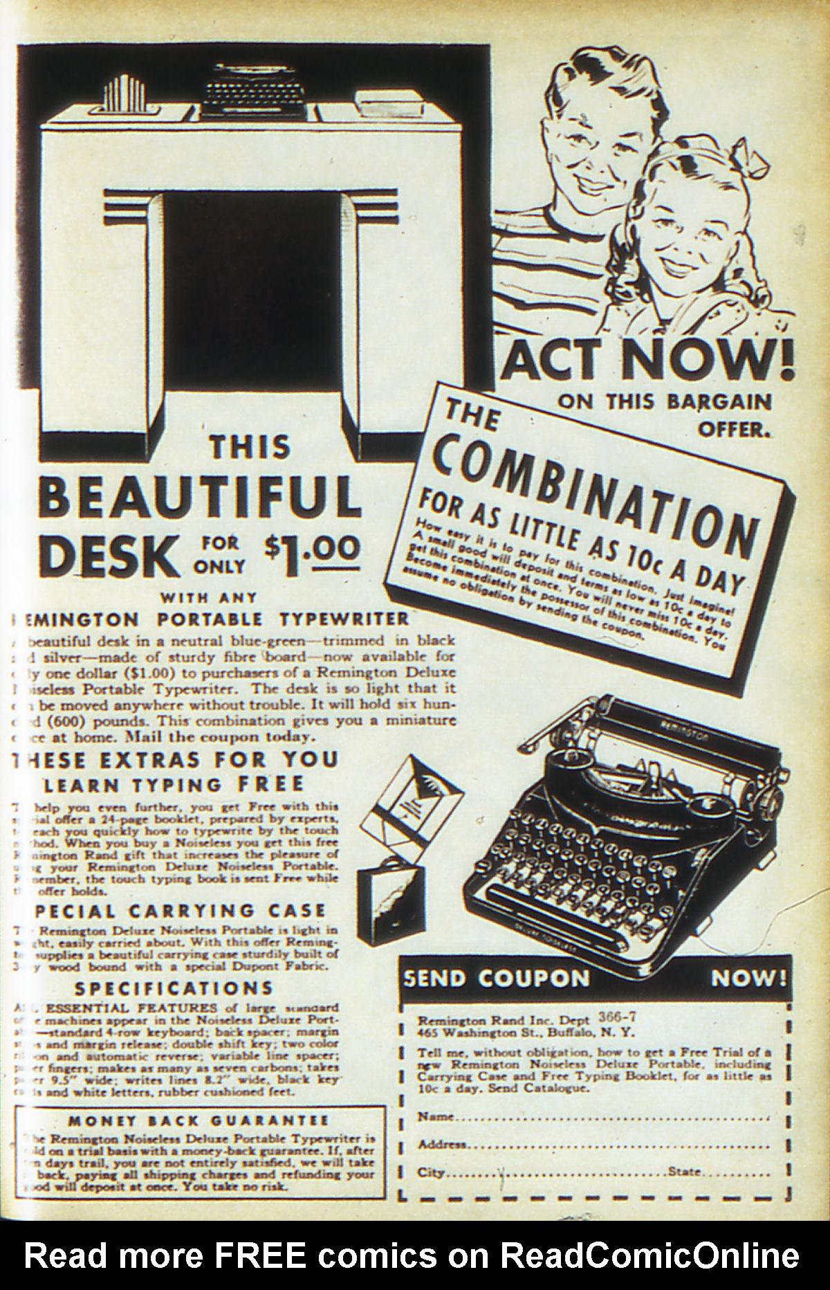 Read online Adventure Comics (1938) comic -  Issue #64 - 68
