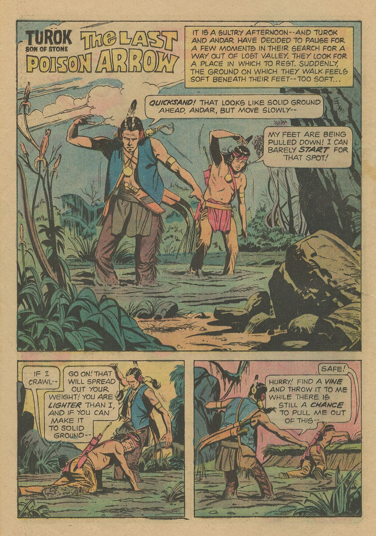 Read online Turok, Son of Stone comic -  Issue #103 - 20