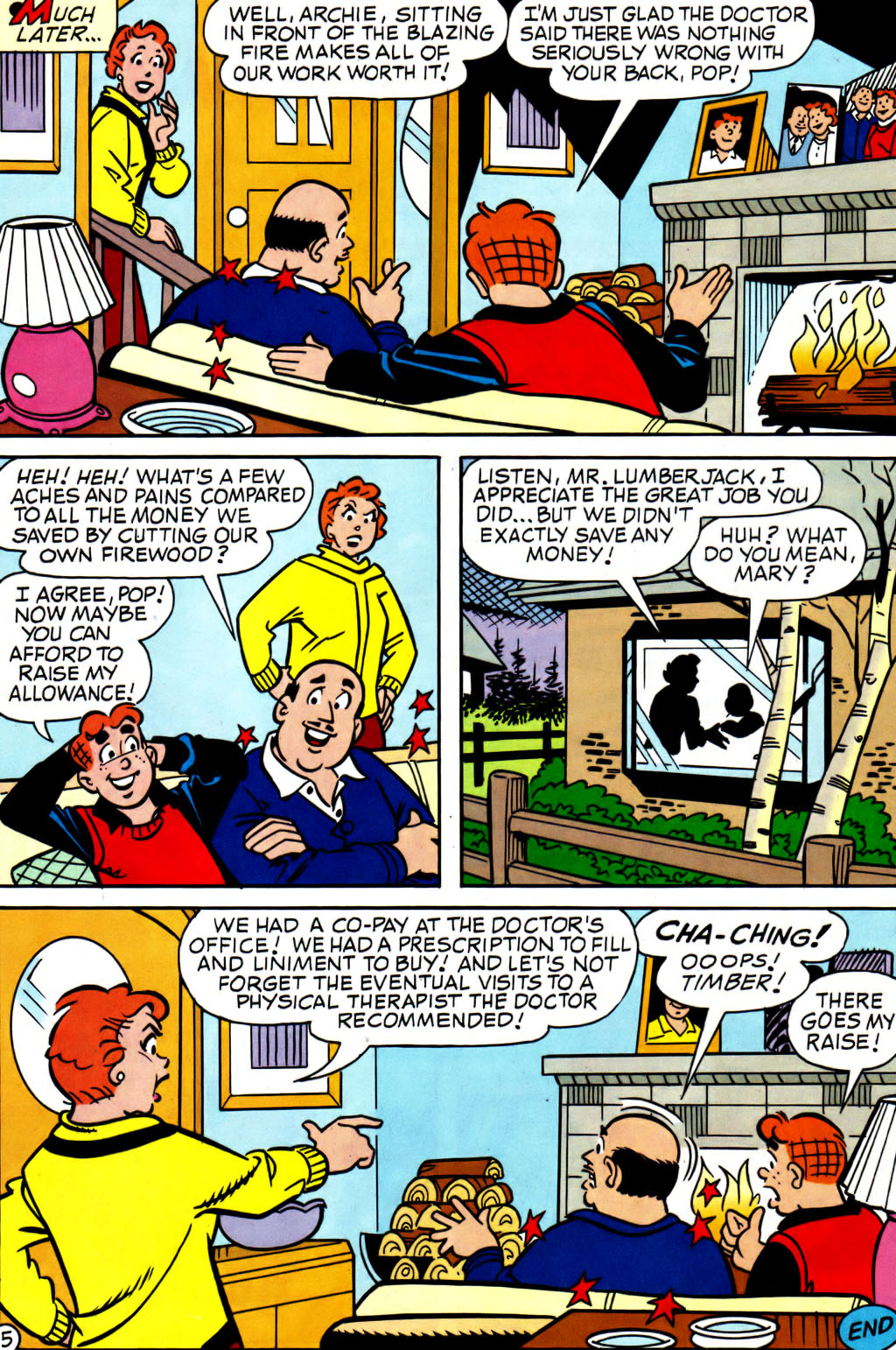 Read online Archie (1960) comic -  Issue #562 - 17