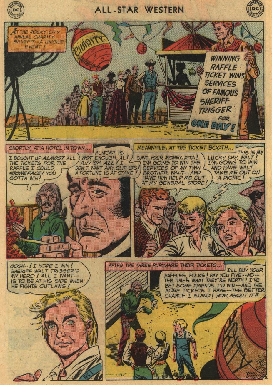 Read online All-Star Western (1951) comic -  Issue #100 - 4
