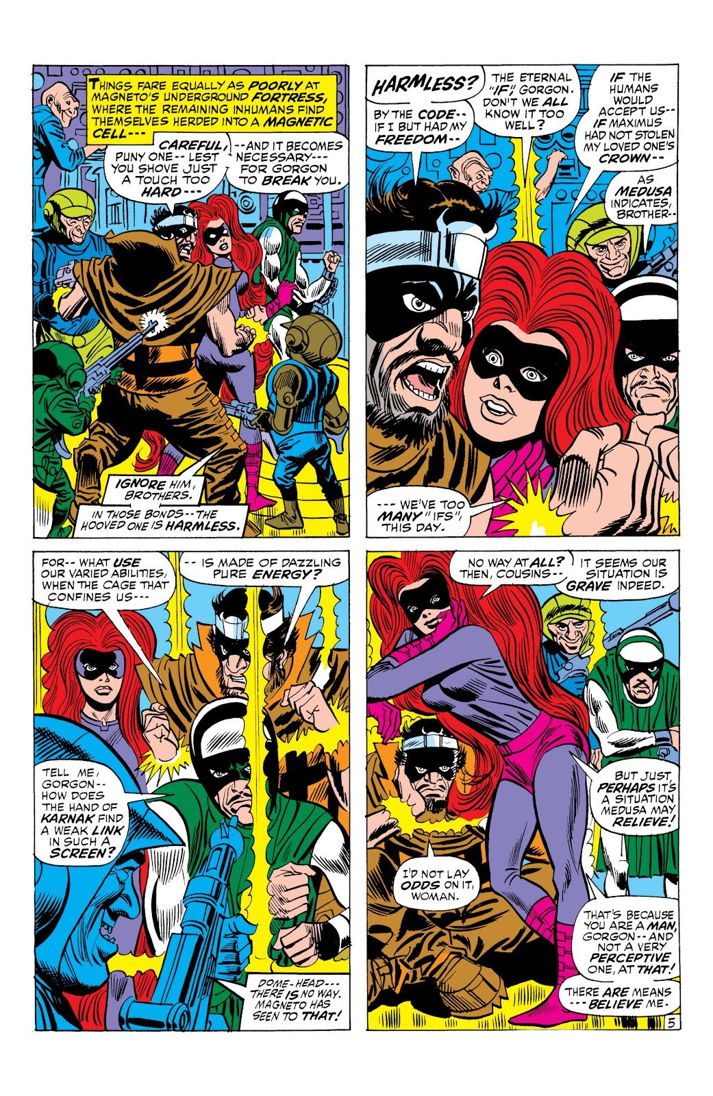 Read online Marvel Masterworks: The Inhumans comic -  Issue # TPB 1 (Part 2) - 83