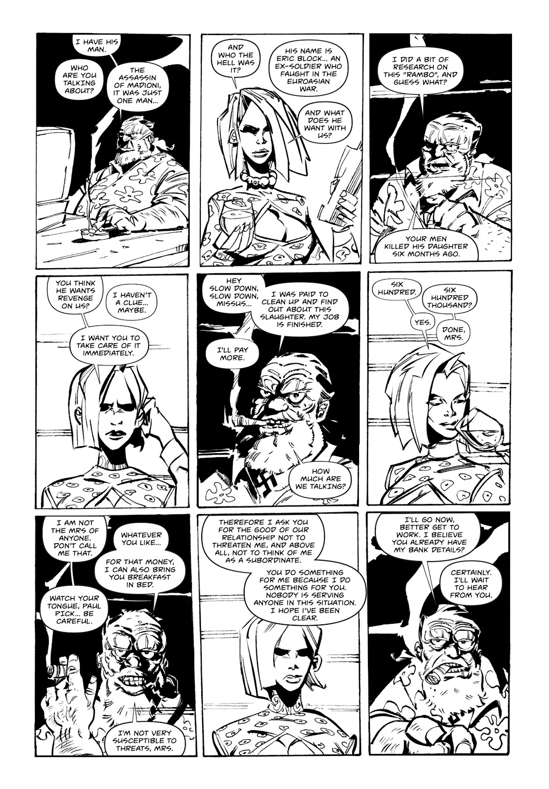 Read online Wrath of God comic -  Issue # _TPB - 40