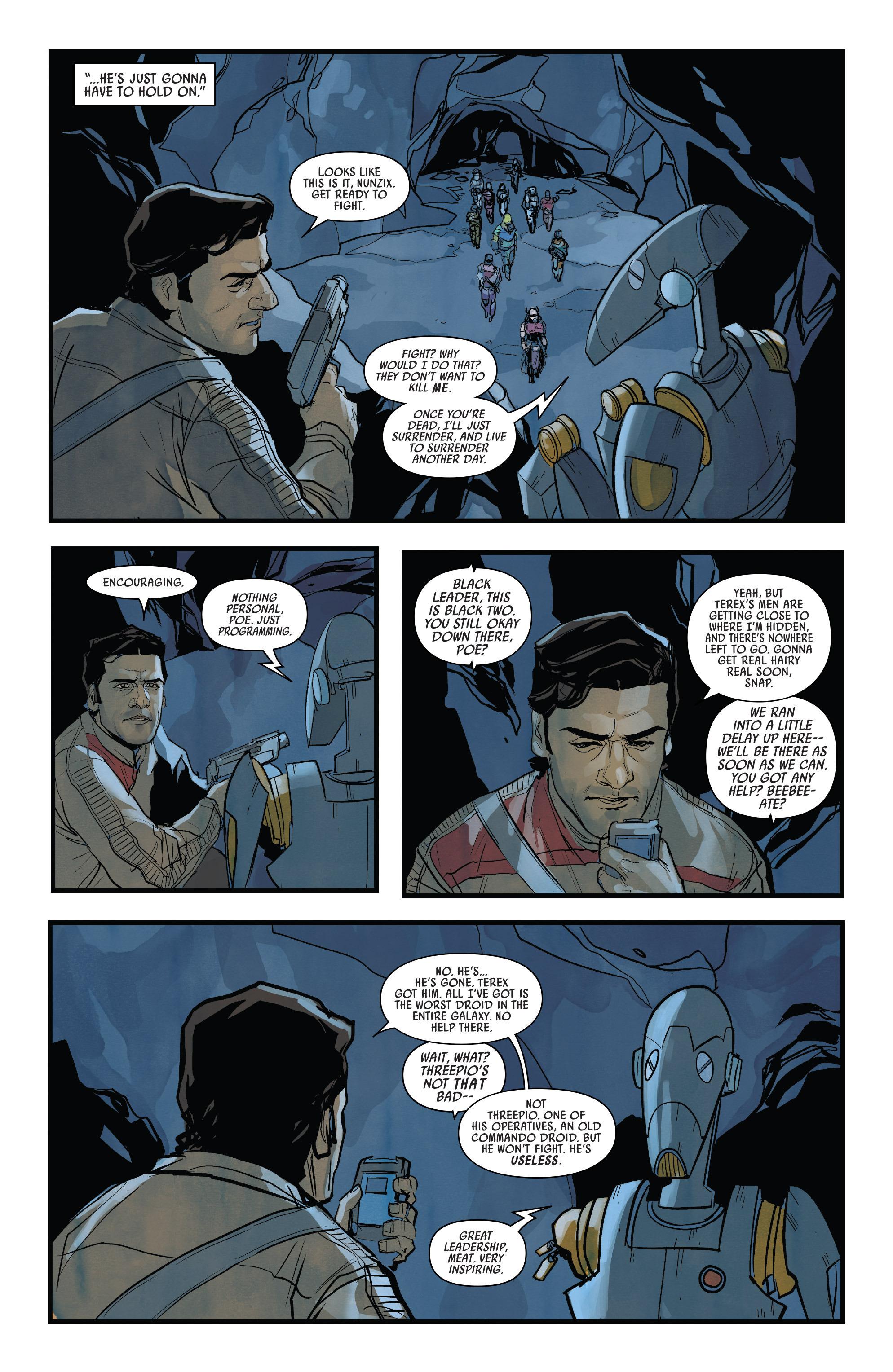 Read online Star Wars: Poe Dameron comic -  Issue #13 - 4
