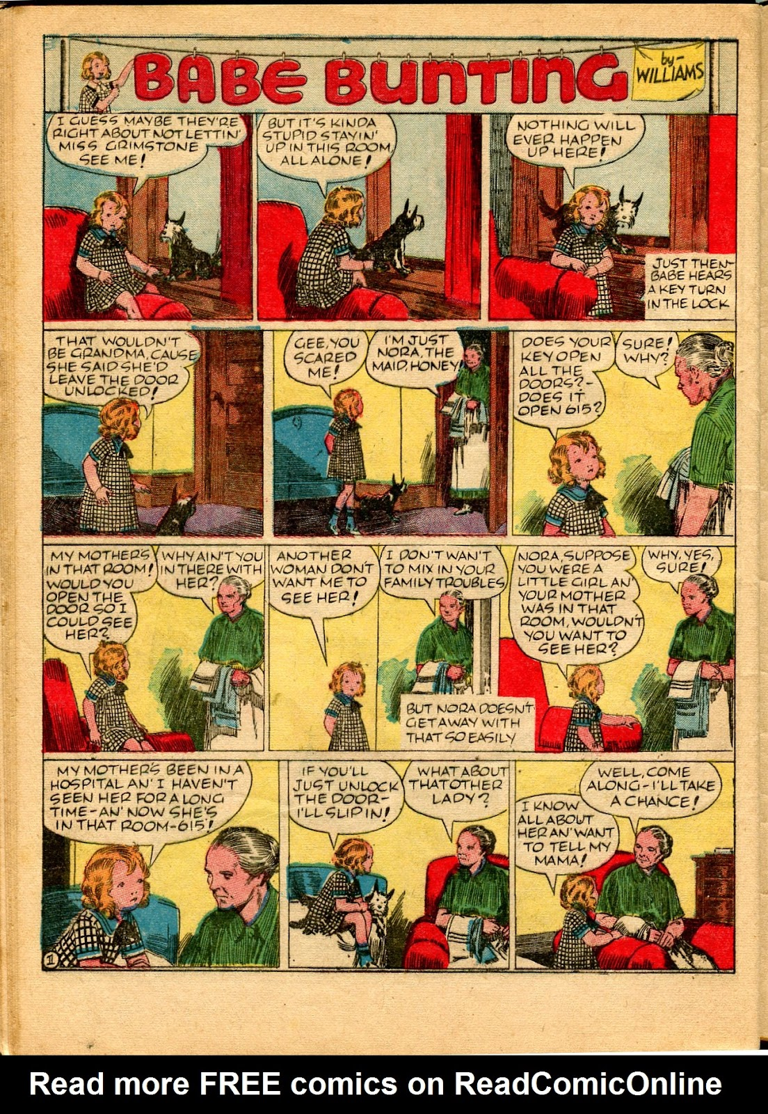 Read online Famous Funnies comic -  Issue #49 - 54