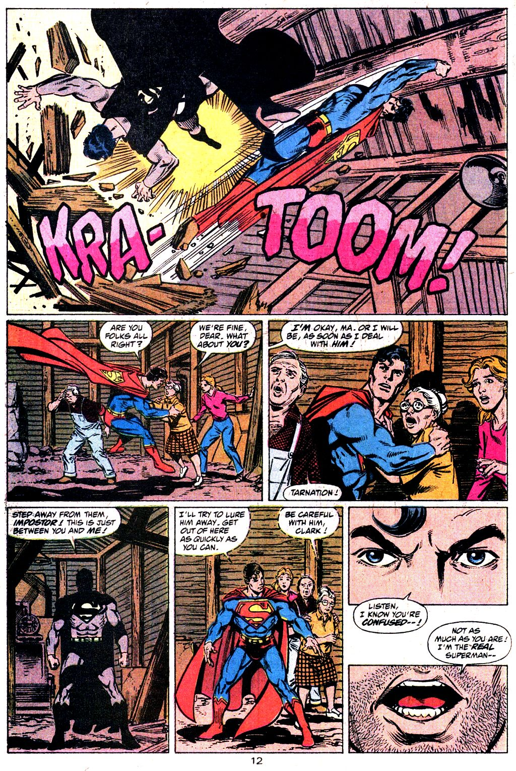 Read online Action Comics (1938) comic -  Issue #644 - 13