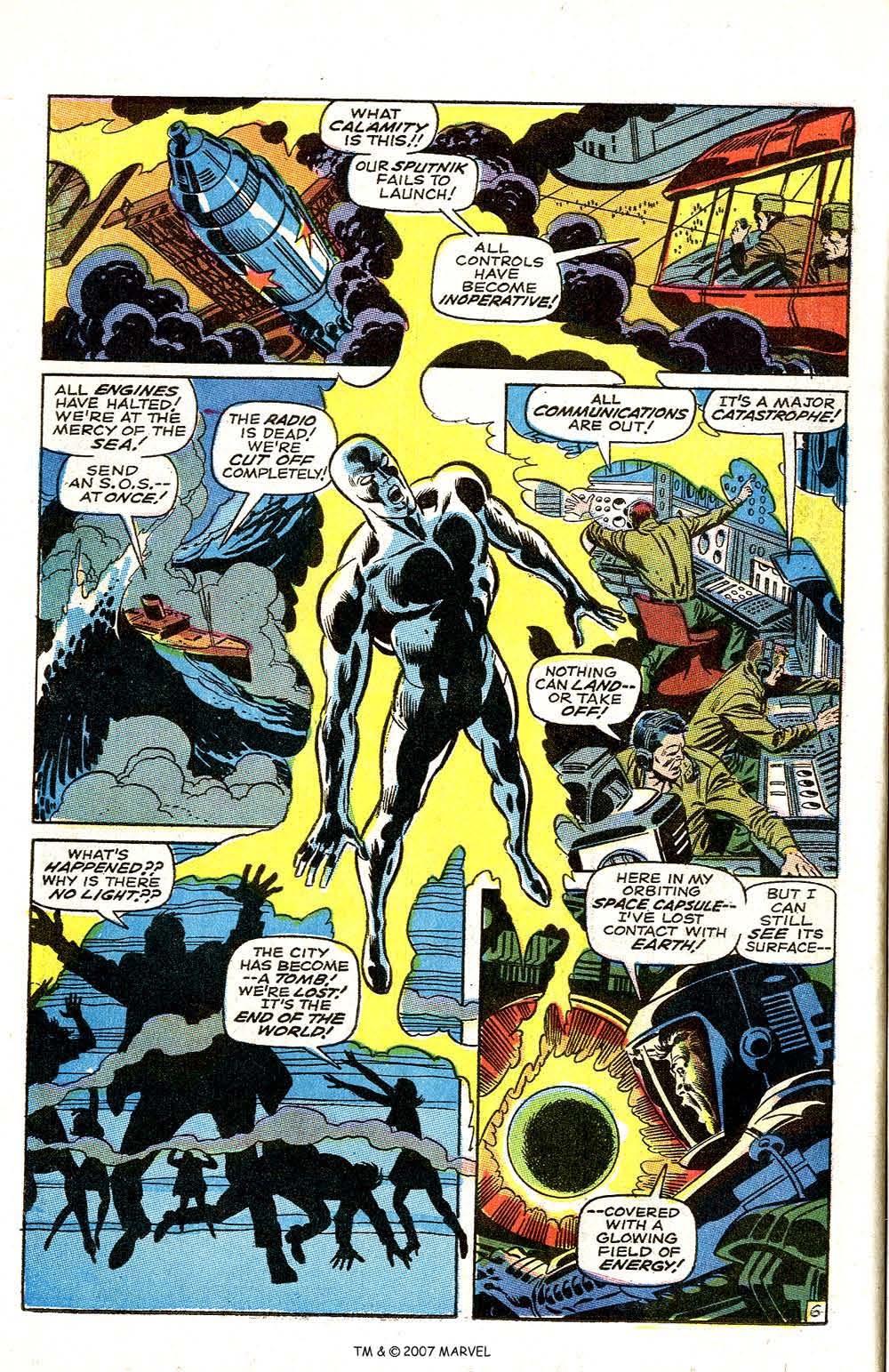 Silver Surfer (1968) issue 3 - Page 8