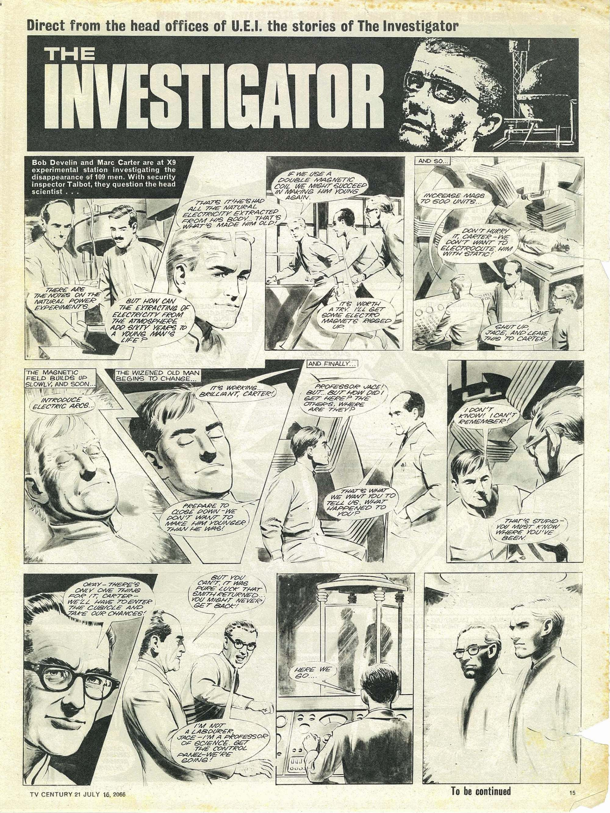 Read online TV Century 21 (TV 21) comic -  Issue #78 - 14