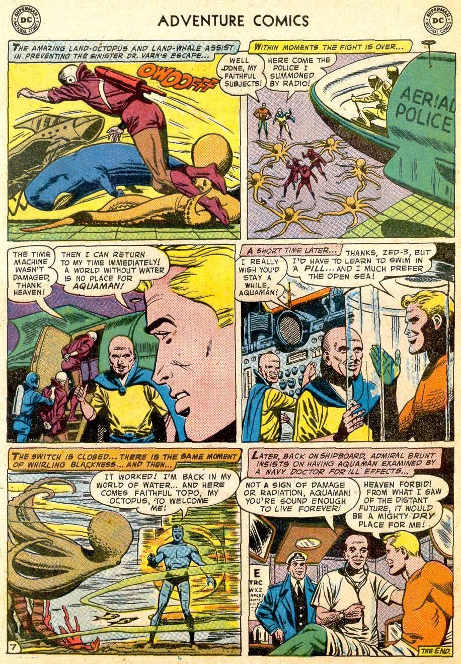 Read online Adventure Comics (1938) comic -  Issue #251 - 32