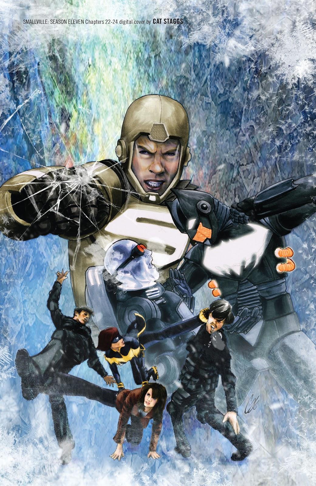 Read online Smallville Season 11 [II] comic -  Issue # TPB 2 - 136