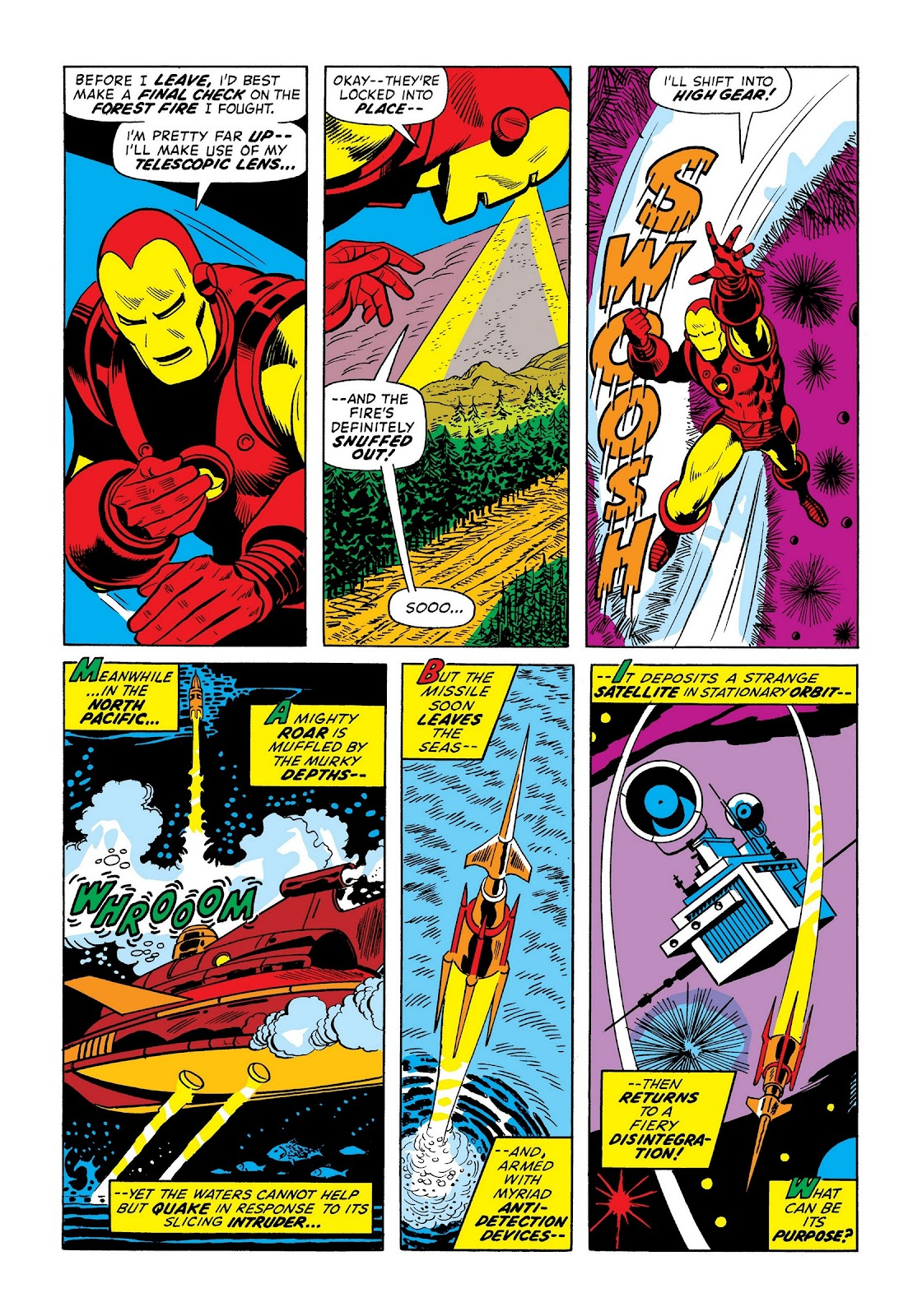 Read online Marvel Masterworks: The Invincible Iron Man comic -  Issue # TPB 9 (Part 1) - 9