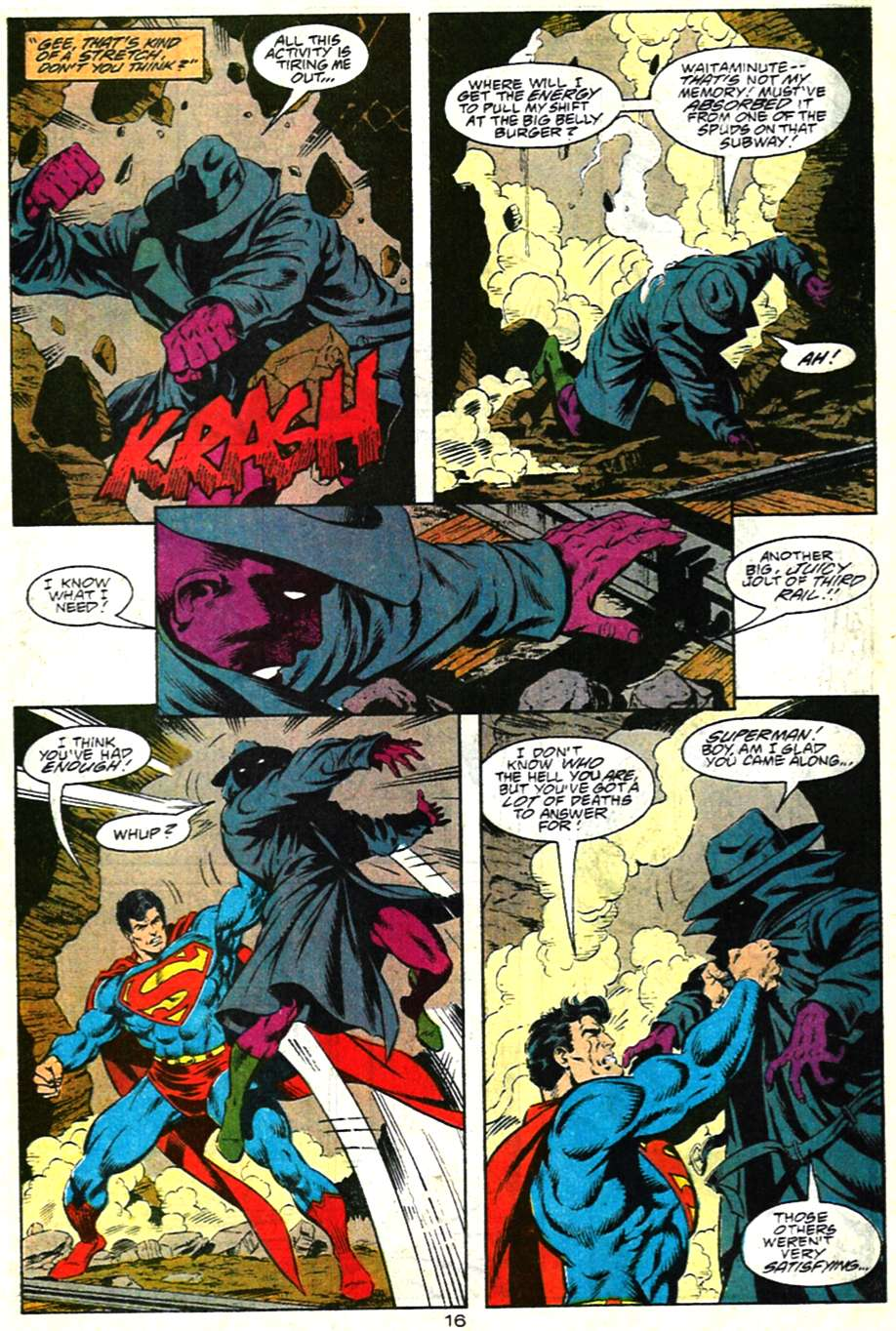 Read online Adventures of Superman (1987) comic -  Issue #481 - 17
