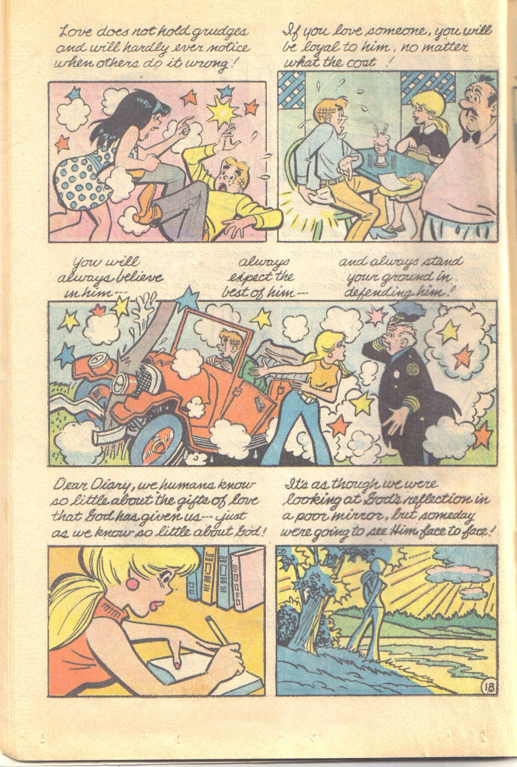 Archie's Love Scene issue Full - Page 20